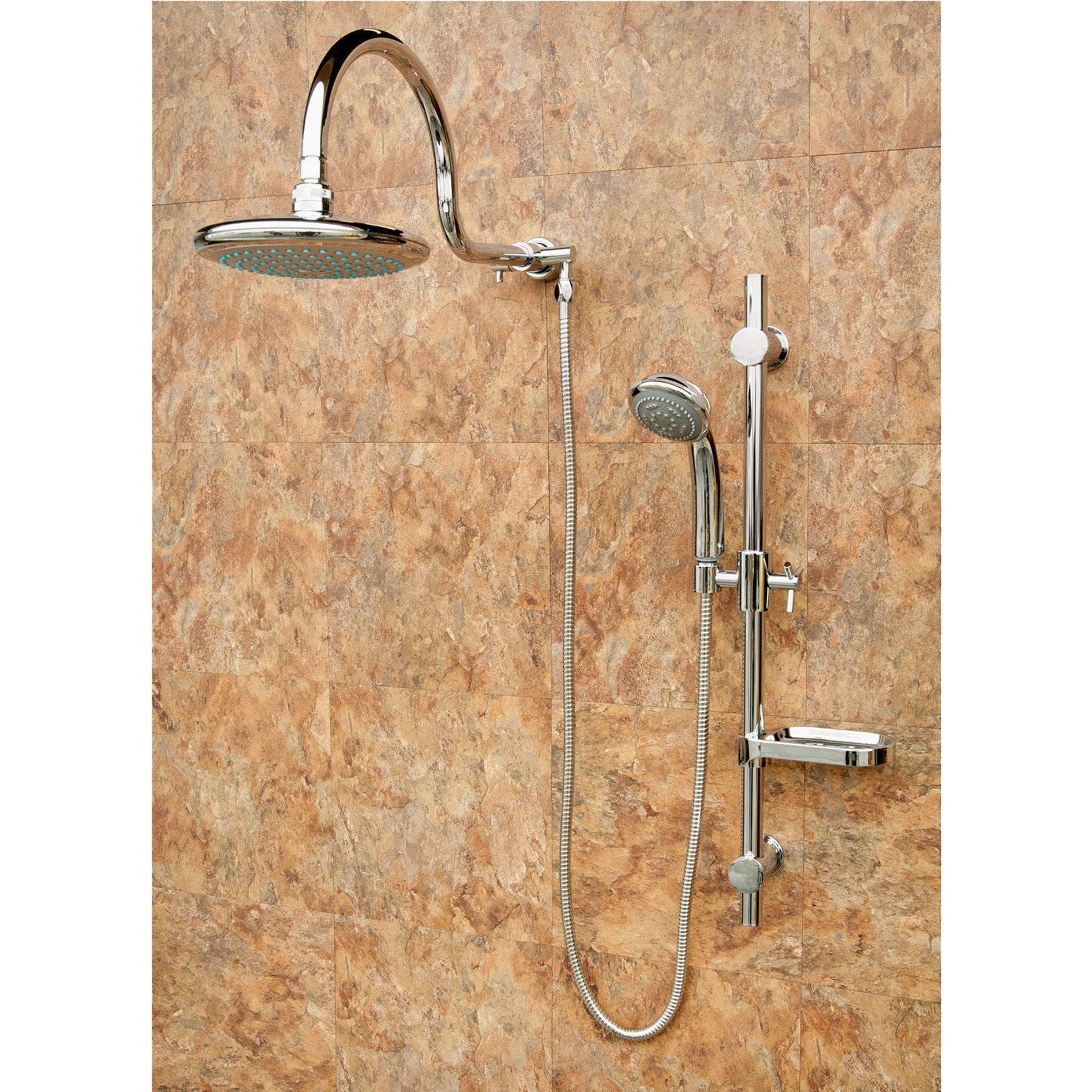 Shop PULSE Aqua Rain Shower System   Free Shipping Today   Overstock.com    9128333