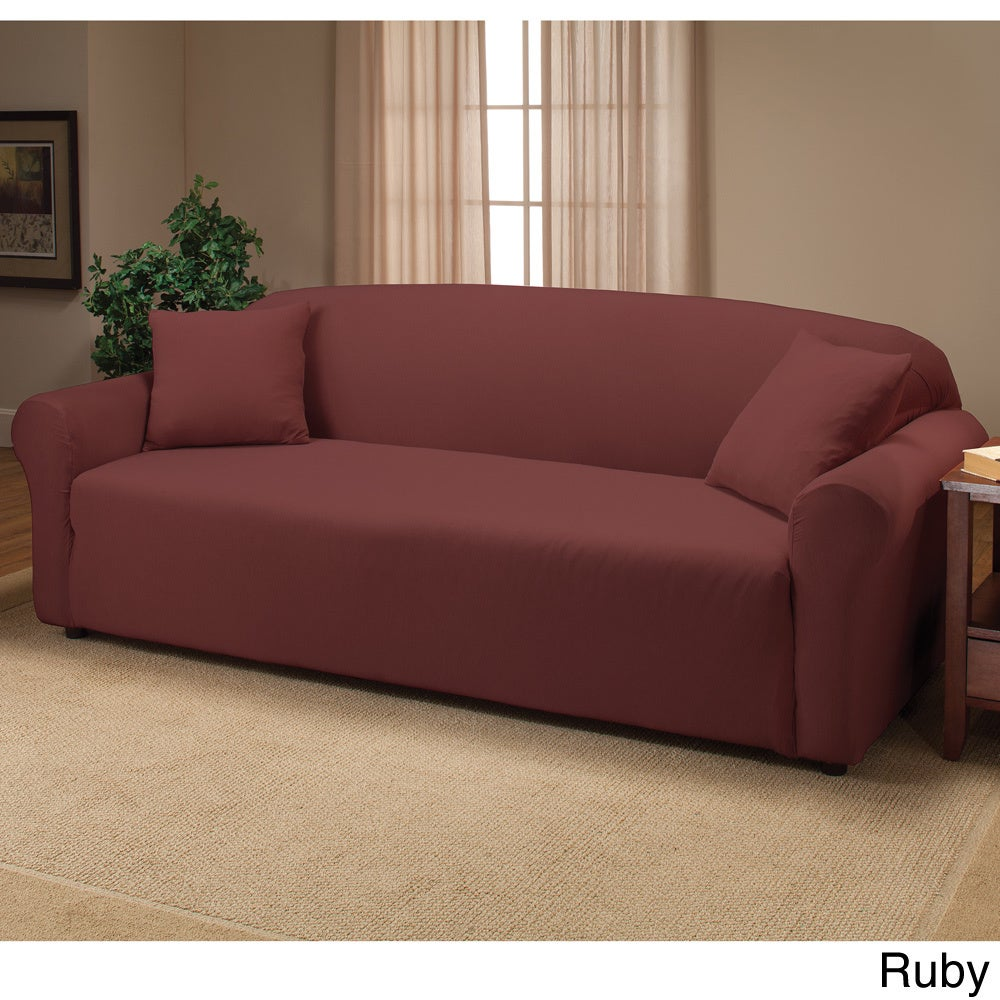 Stretch Sofa Slipcover Free Shipping On Orders Over 45 9129408