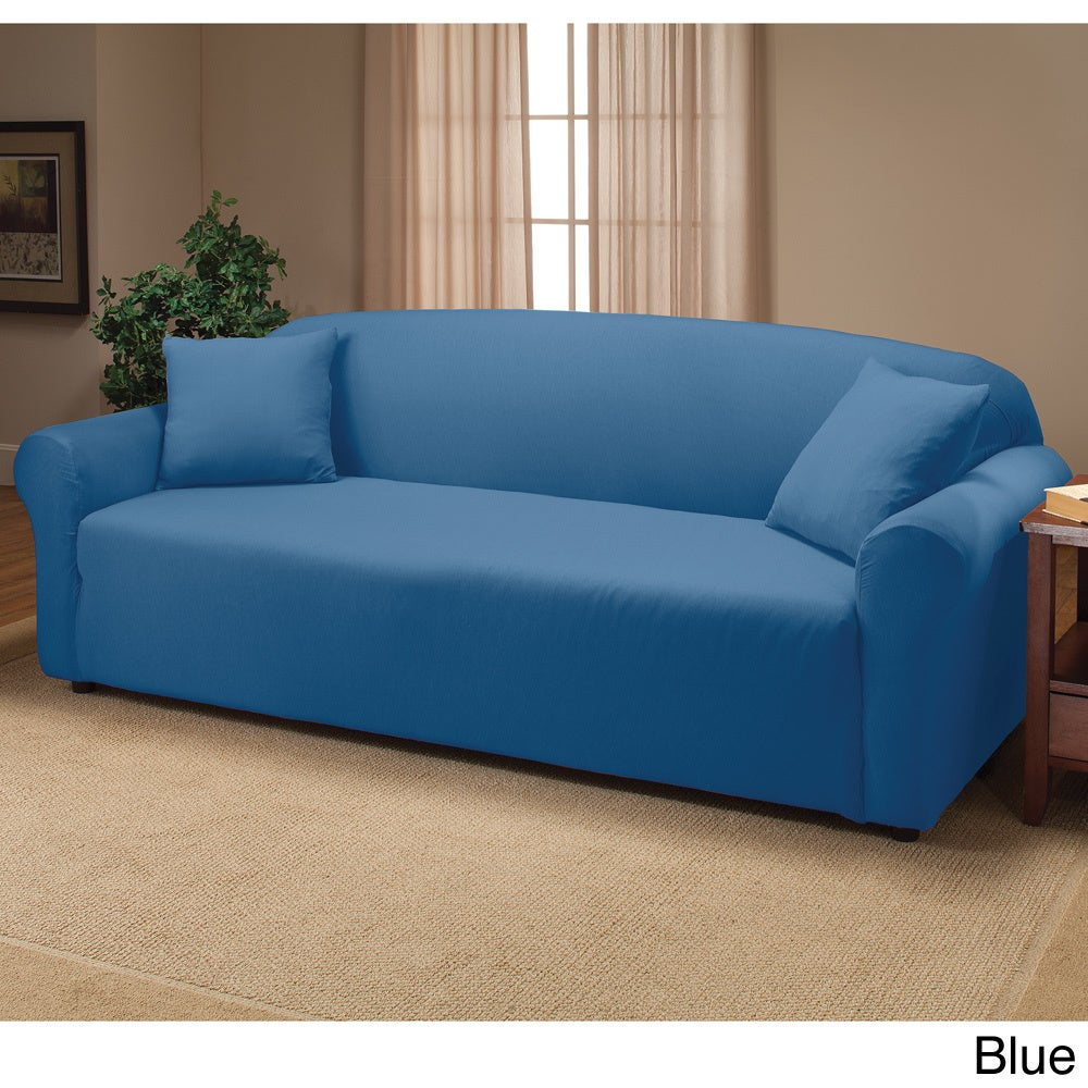 Shop Stretch Sofa Slipcover - Free Shipping On Orders Over $45 ...