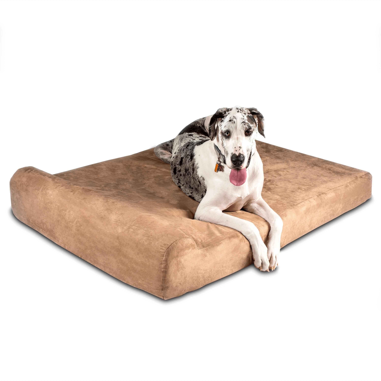 Big Barker 7 Orthopedic Dog Bed Headrest Edition Overstock 9129966