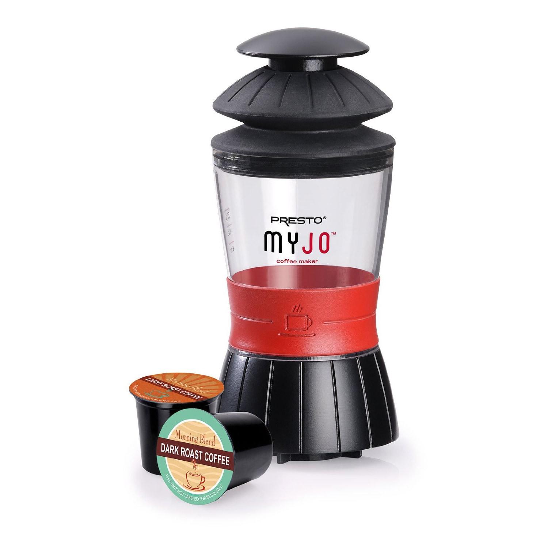 Presto Myjo Portable Single Cup Coffee Maker  Free Shipping
