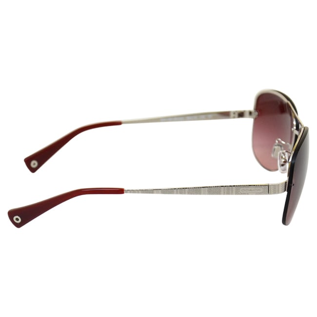 aed2c64aafe8 ... new style shop coach womens jasmine hc7026 90018h silver sunglasses  free shipping today overstock 9135719 29834