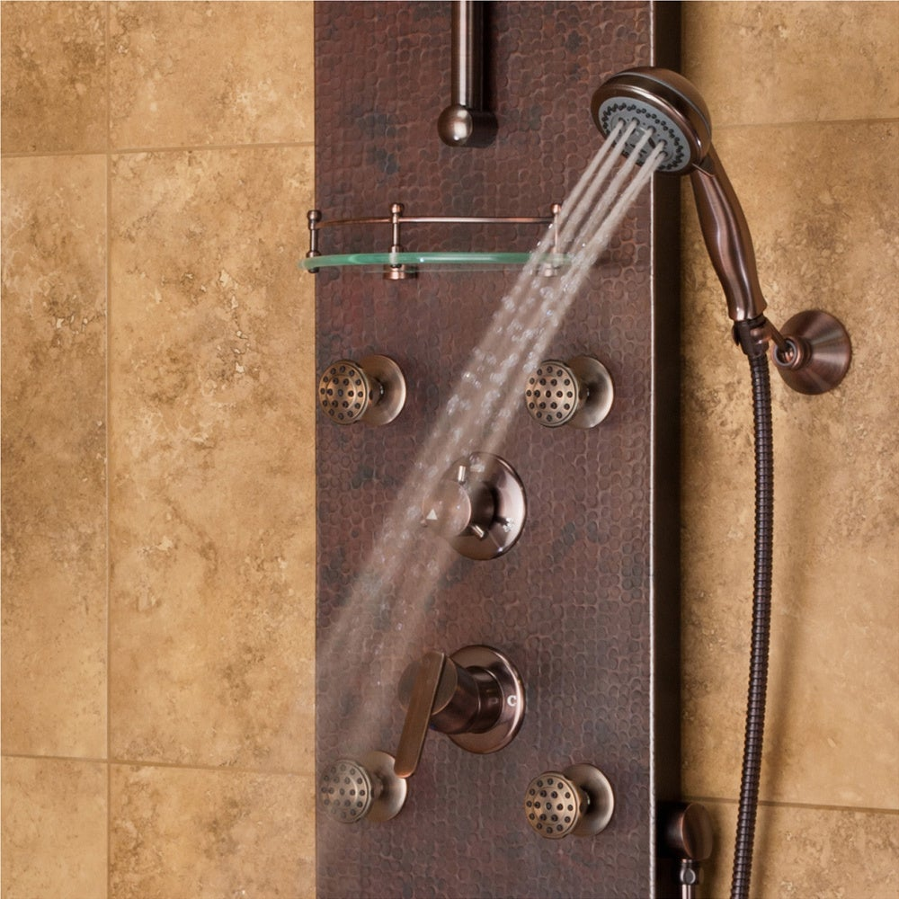 Shop PULSE Oil Rubbed Bronze ShowerSpa   Free Shipping Today    Overstock.com   9142131