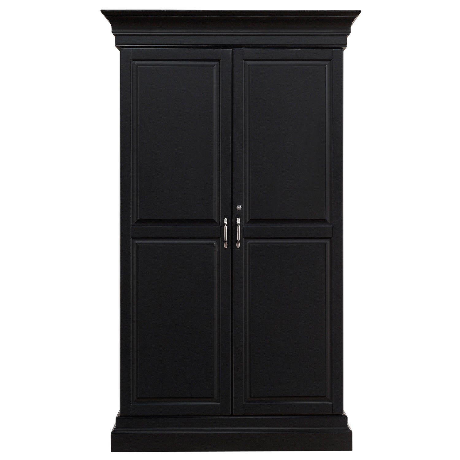 Attractive Ashley Heights Black Stain Home Bar Wine Cabinet   Free Shipping Today    Overstock   16325081