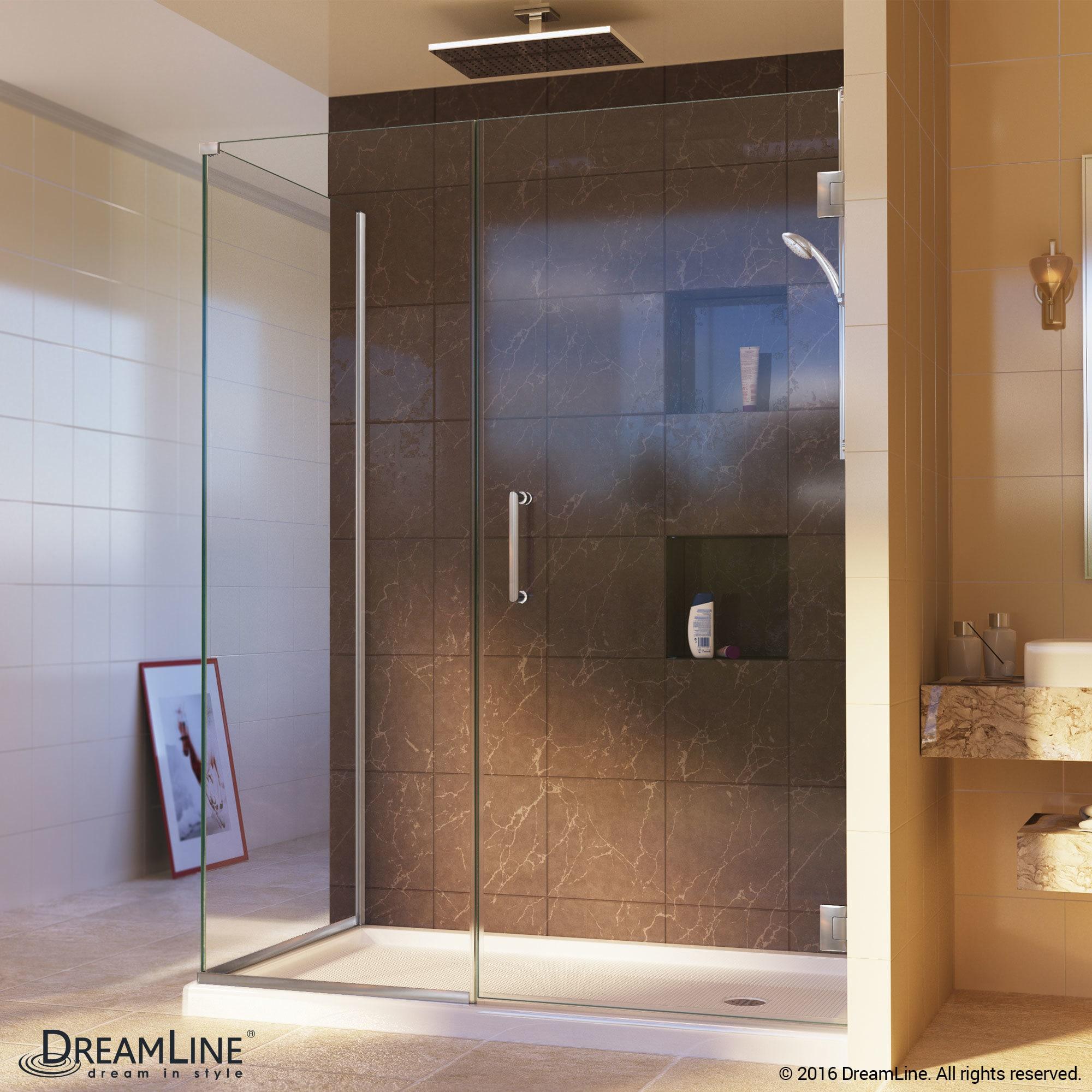 Shop DreamLine Unidoor Plus 40 in. W x 30.375-34.375 in. D x 72 in ...