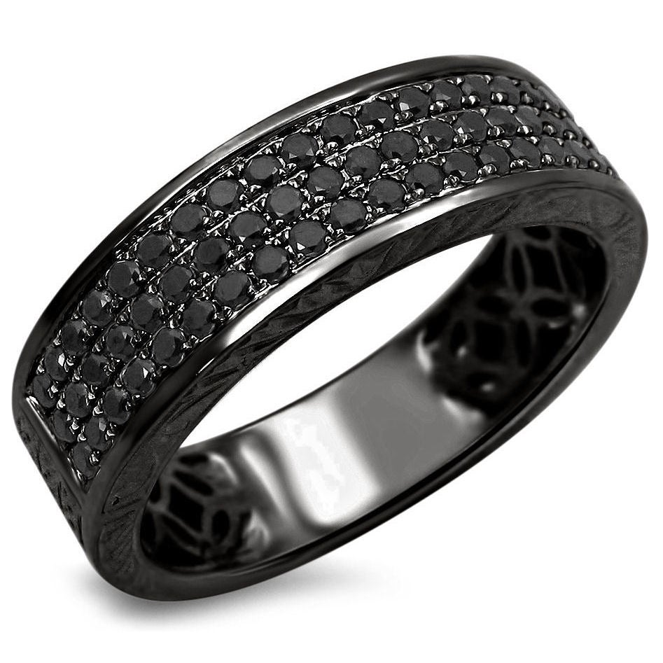 and black cute special wedding rings style the diamond