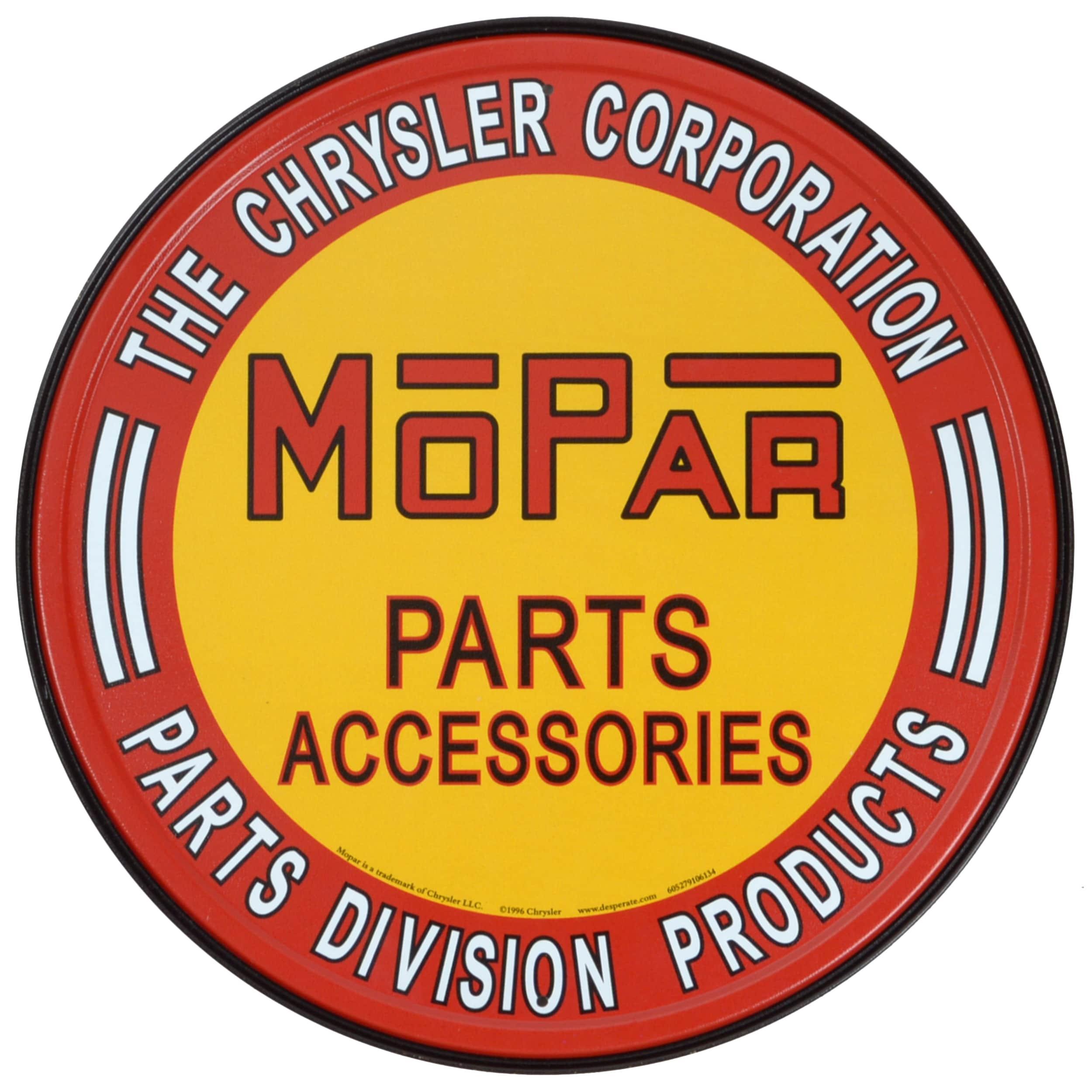 Vintage Metal Art Mopar Decorative Tin Sign  Free Shipping