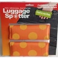 Bright Orange Polka Dot Original Patented Luggage Spotter (Set of 2)