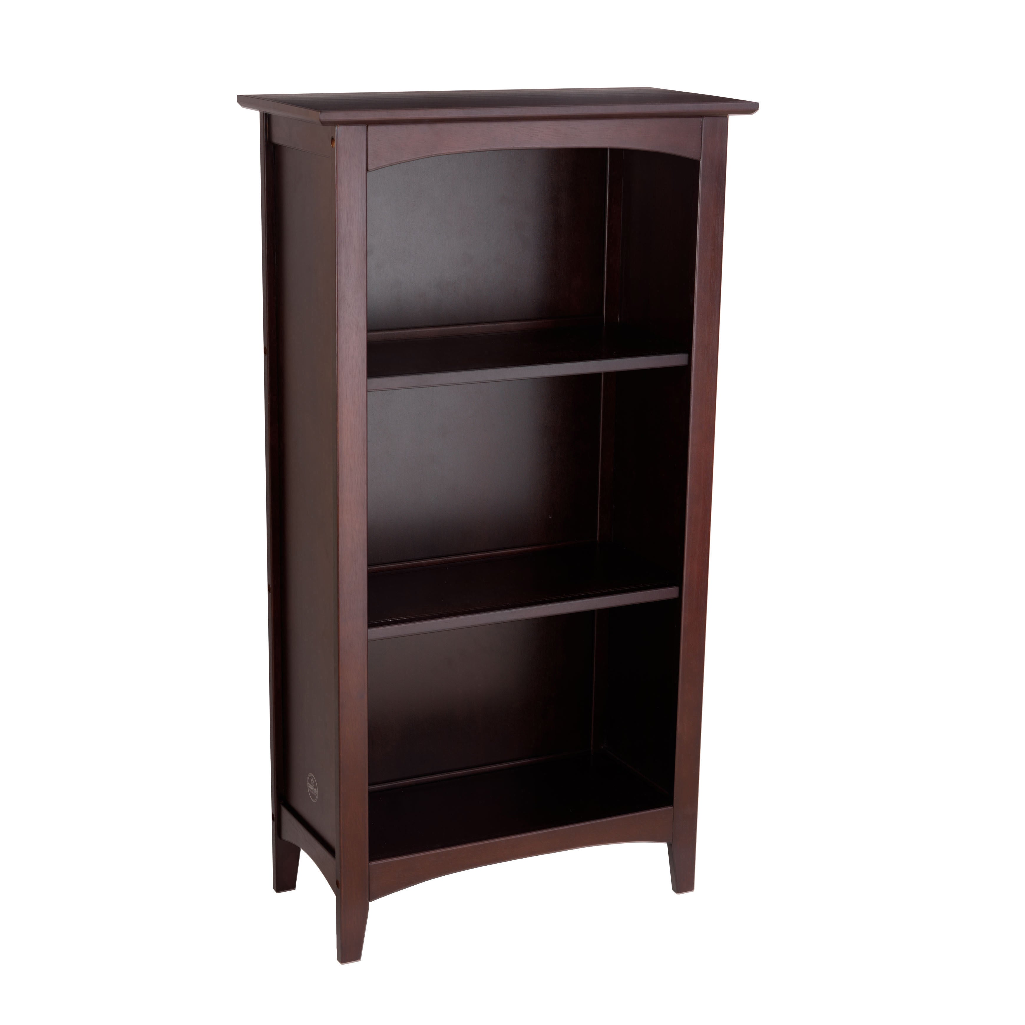 mahogany bookshelf for narrow tall glass bookcases bookcase spaces size doors small black with