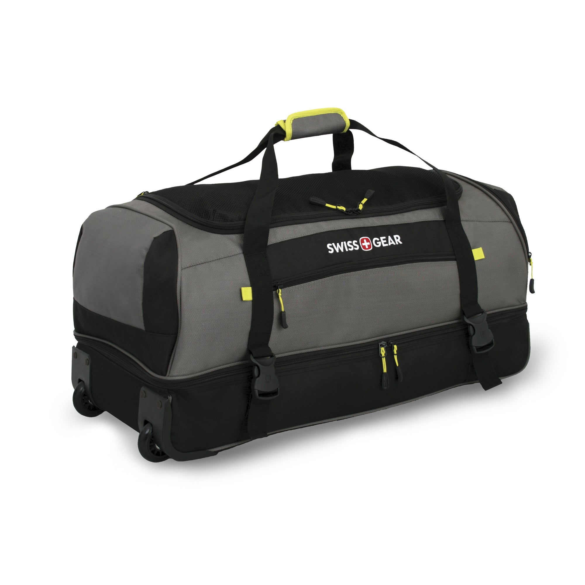 Shop SwissGear Sierre II 30-inch Rolling Drop Bottom Duffel Bag - Free  Shipping Today - Overstock.com - 9160433 3601d5ae15