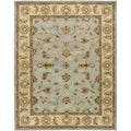 Safavieh Handmade Heritage Timeless Traditional Light Blue/ Beige Wool Rug (11' x 15')