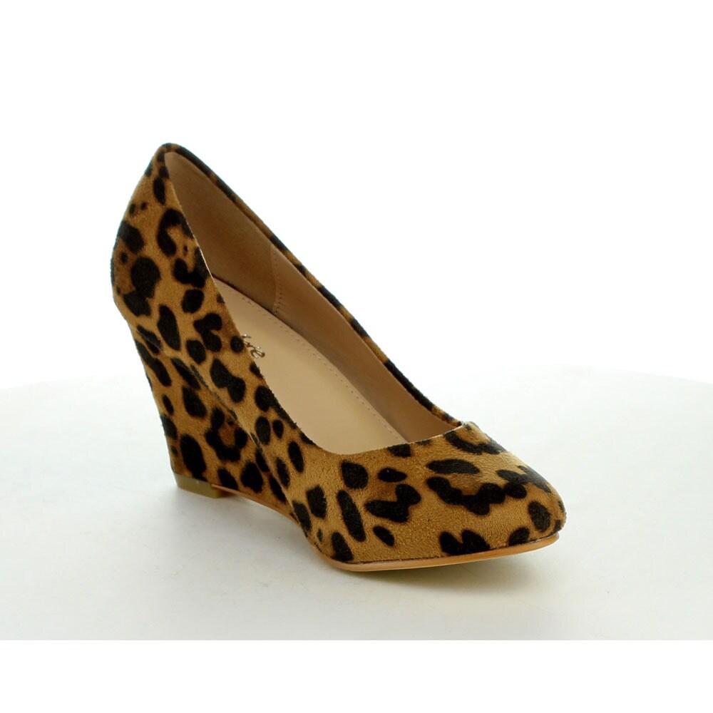 5e1f05afb8e75 Shop BELLAMARIE NINE-5 Women s Classic Almond Toe Mid Wedges - Free ...