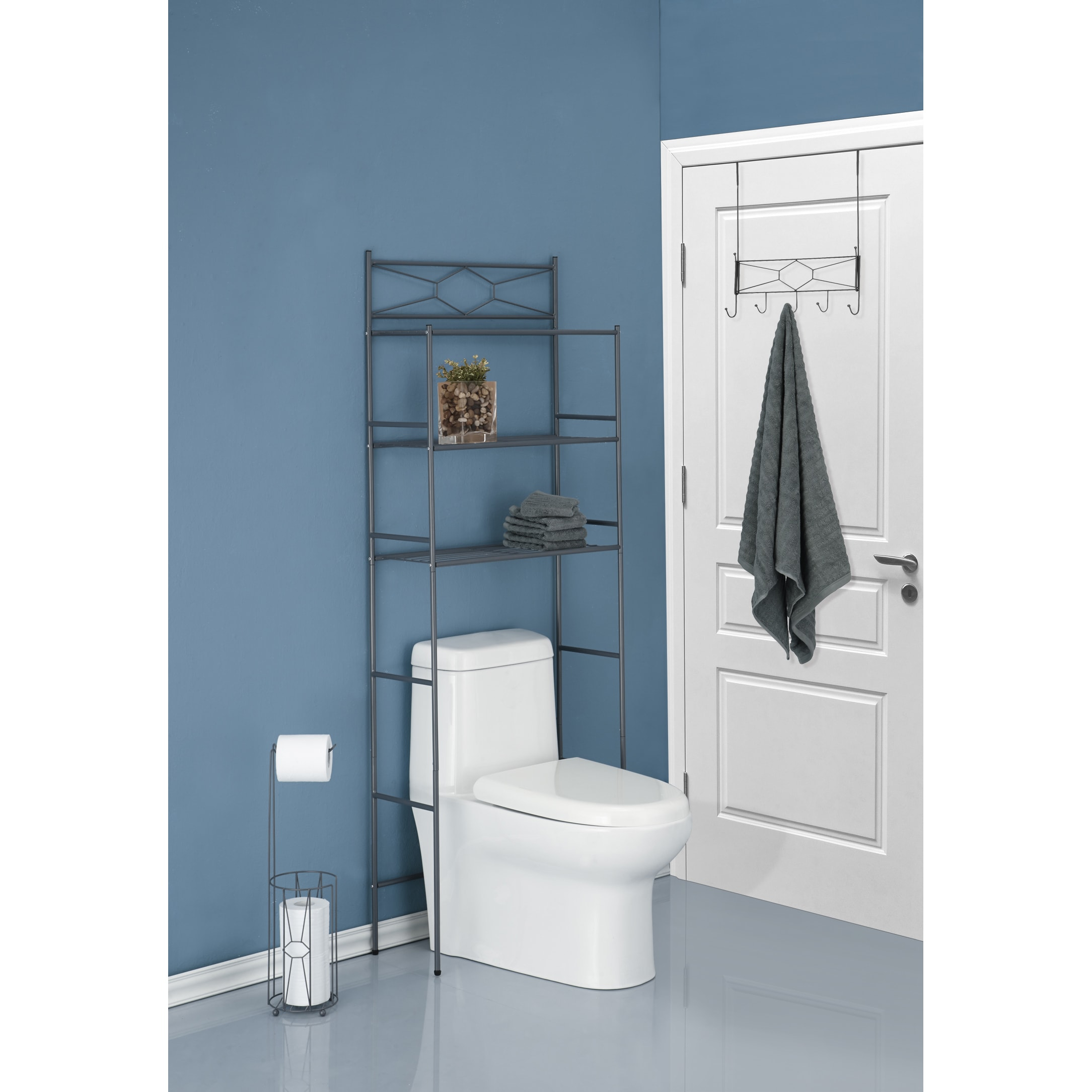 Shop Three Piece Combo Bathroom Storage Kit - Free Shipping Today ...