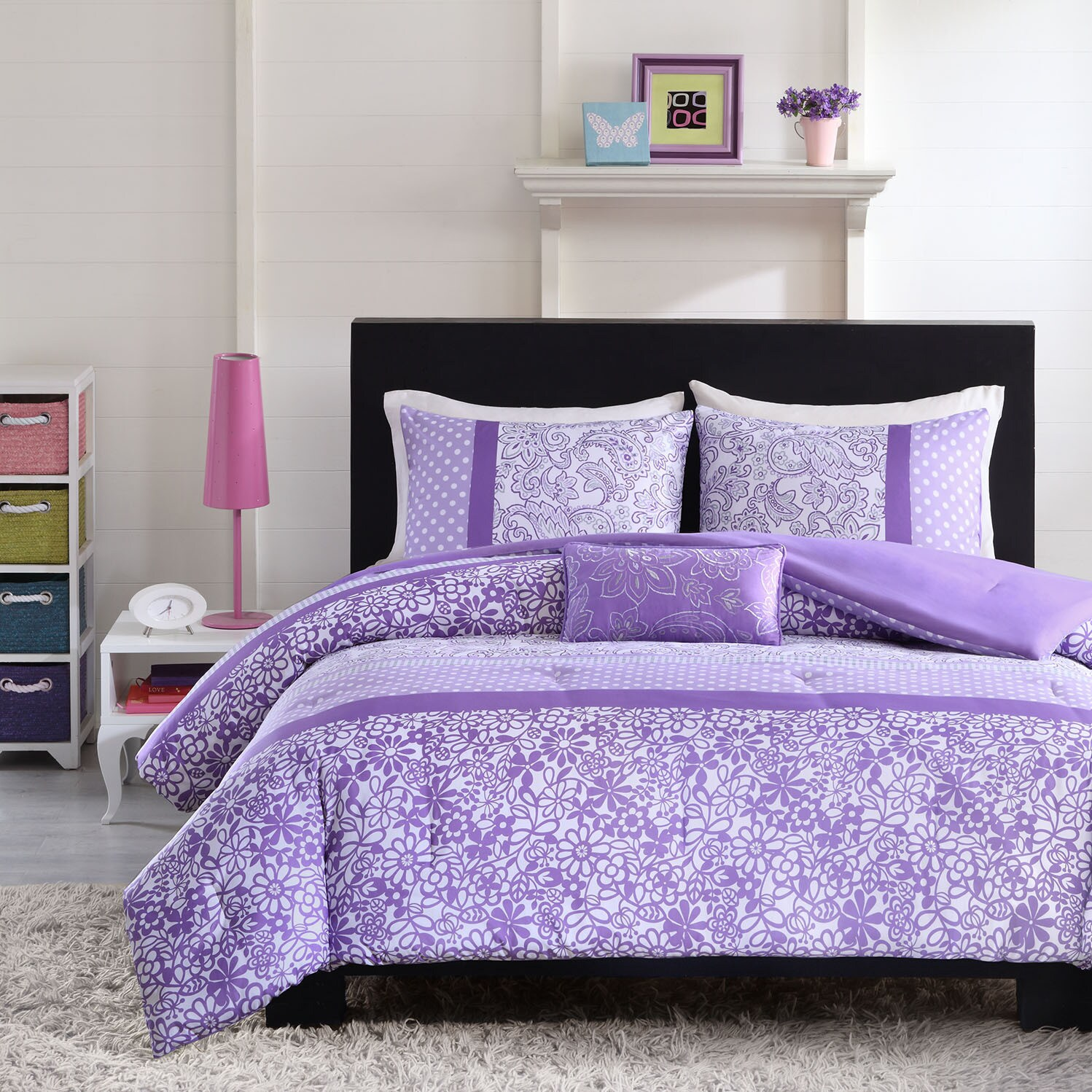 quilt lilac set sets purple and bedding decoration plum color comforter size colored king lavender of black double full