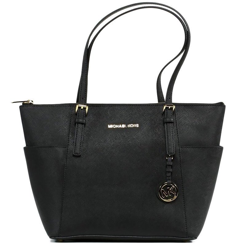 Michael Kors Jet Set Medium Pocketed Top Zip Tote Bag Free Shipping Today 9167184