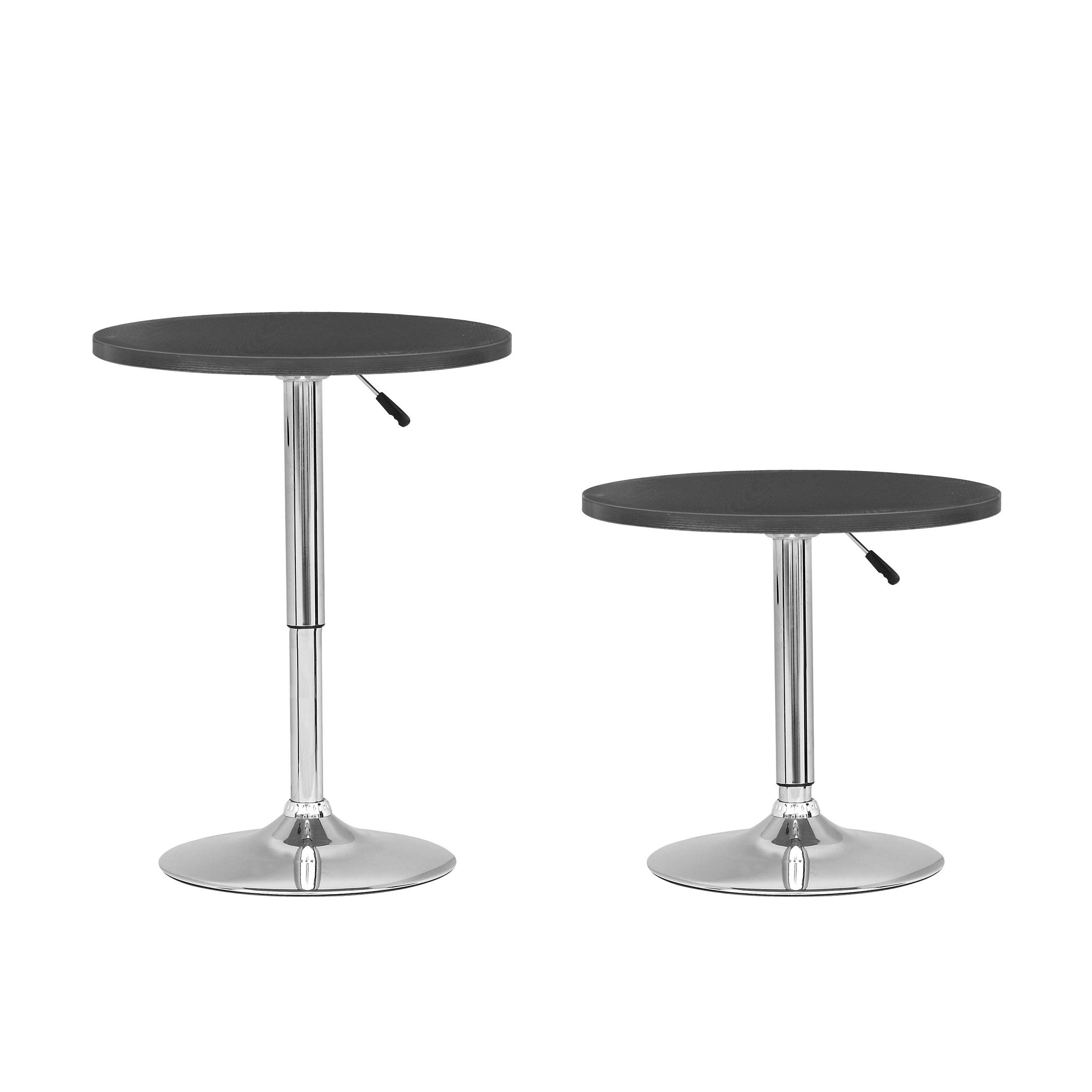Shop corliving adjustable height round bar table free shipping shop corliving adjustable height round bar table free shipping today overstock 9168126 watchthetrailerfo