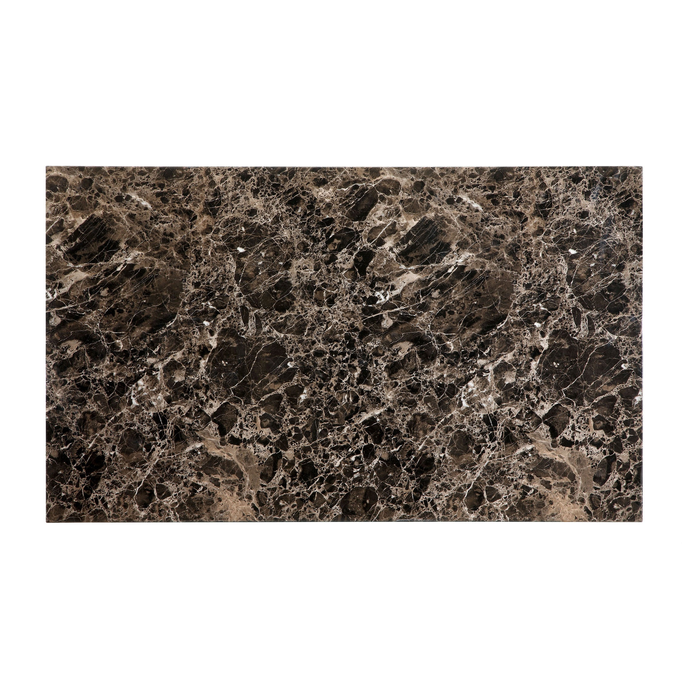 Furniture of America Perthien 6 Piece Faux Marble