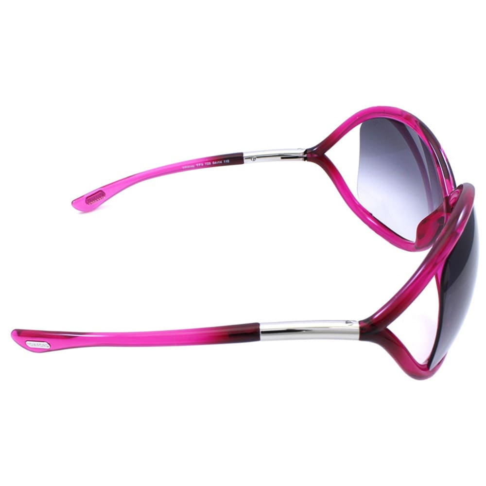 e79bec4cad Shop Tom Ford Women s TF9 Whitney 72B Shiny Pink Plastic Fashion Sunglasses  - Free Shipping Today - Overstock - 9173002