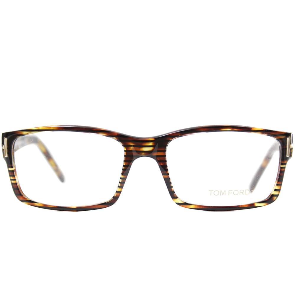 16e7257147e Shop Tom Ford Men s TF5013 FT5013 056 Havana Rectangle Plastic Eyeglasses -  Free Shipping Today - Overstock - 9173068