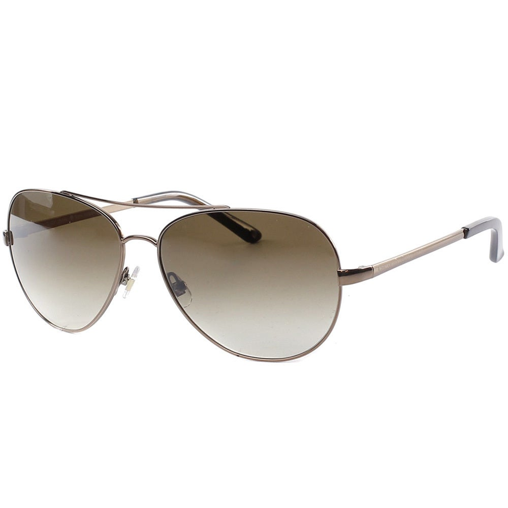 7de9c8fcdc3fe Shop Kate Spade Women s Avaline 0P40 Brown Aviator Metal Sunglasses - Free  Shipping Today - Overstock - 9173184