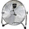 Impress High Velocity Chrome Floor Fan