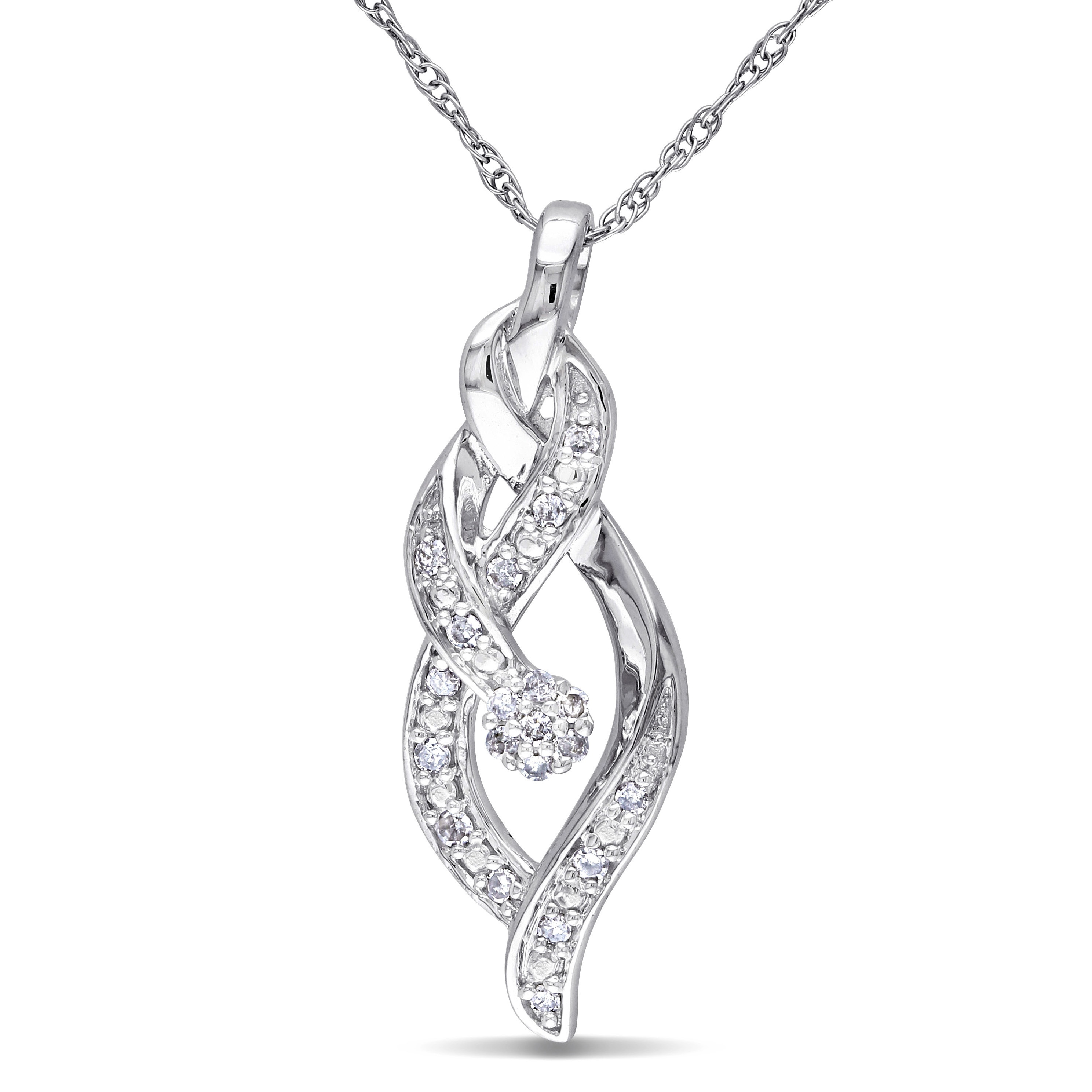 necklace white and diamond gold morganite shape halo rose sapphire chain pendant in amour oval with