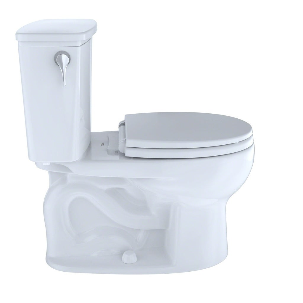 Shop Toto Eco Drake Transitional Two-Piece Round 1.28 GPF Toilet ...