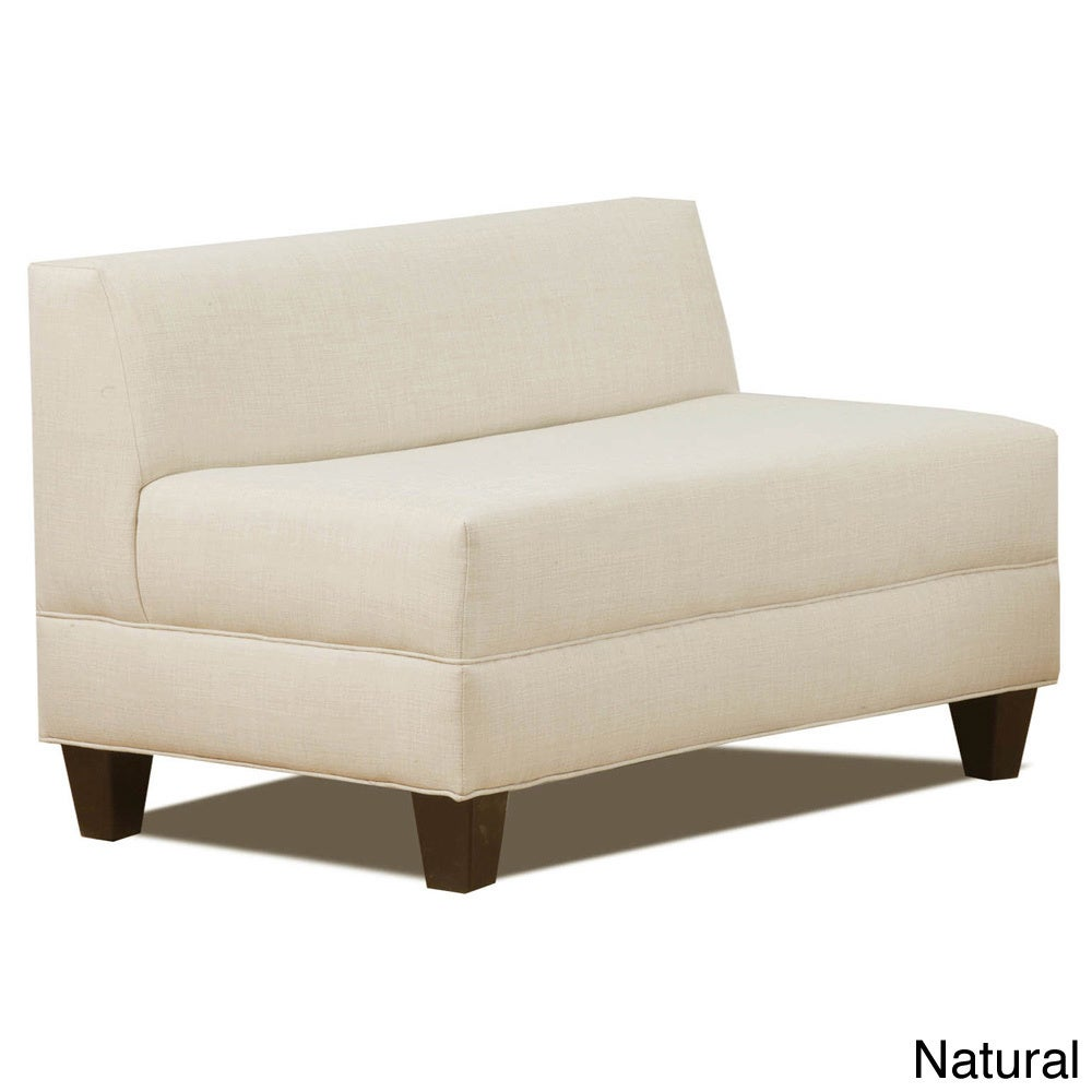makenzie armless loveseat  free shipping today  overstockcom  . makenzie armless loveseat  free shipping today  overstockcom