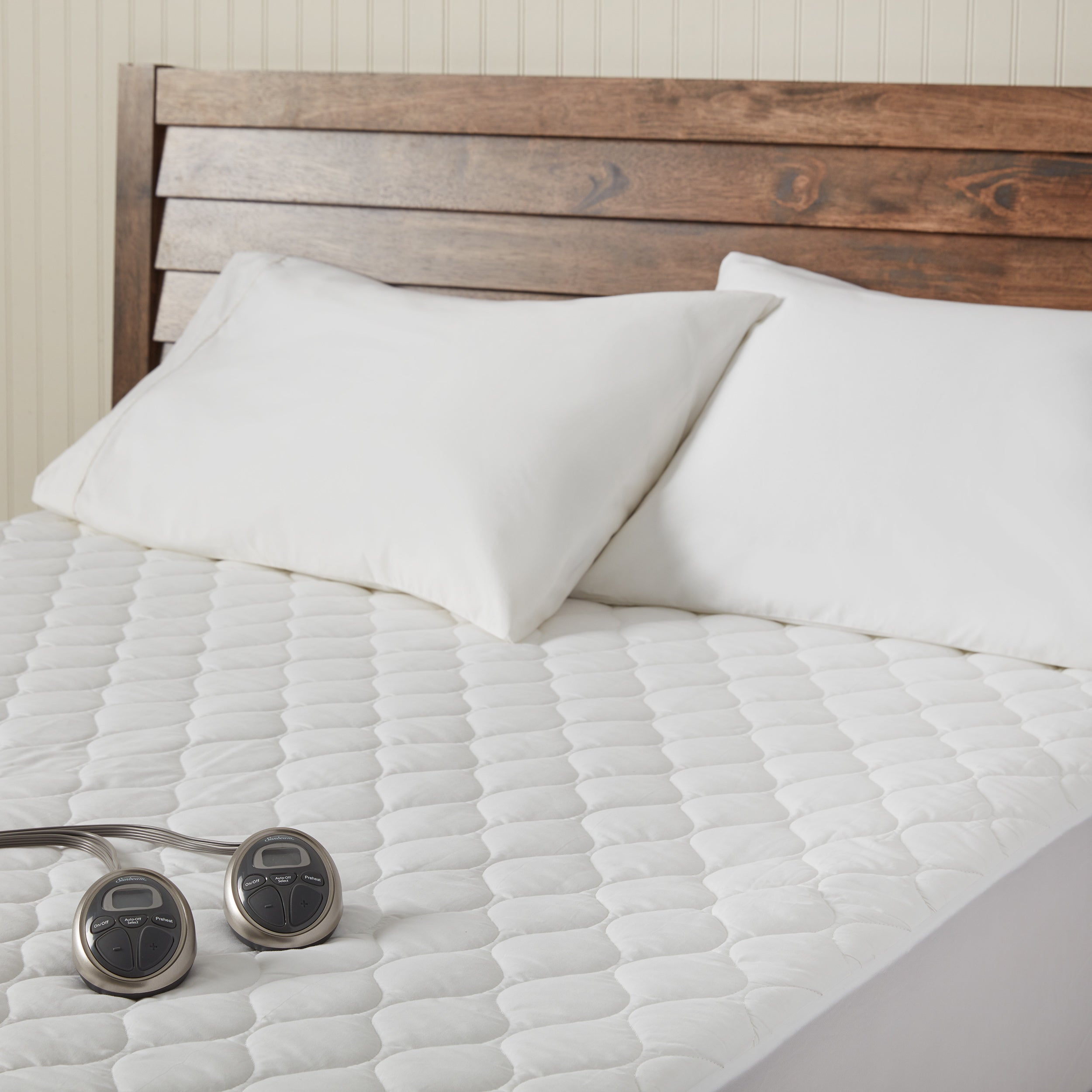 Shop Sunbeam Waterproof King-size Heated Electric Mattress Pad - Free  Shipping Today - Overstock.com - 9182354