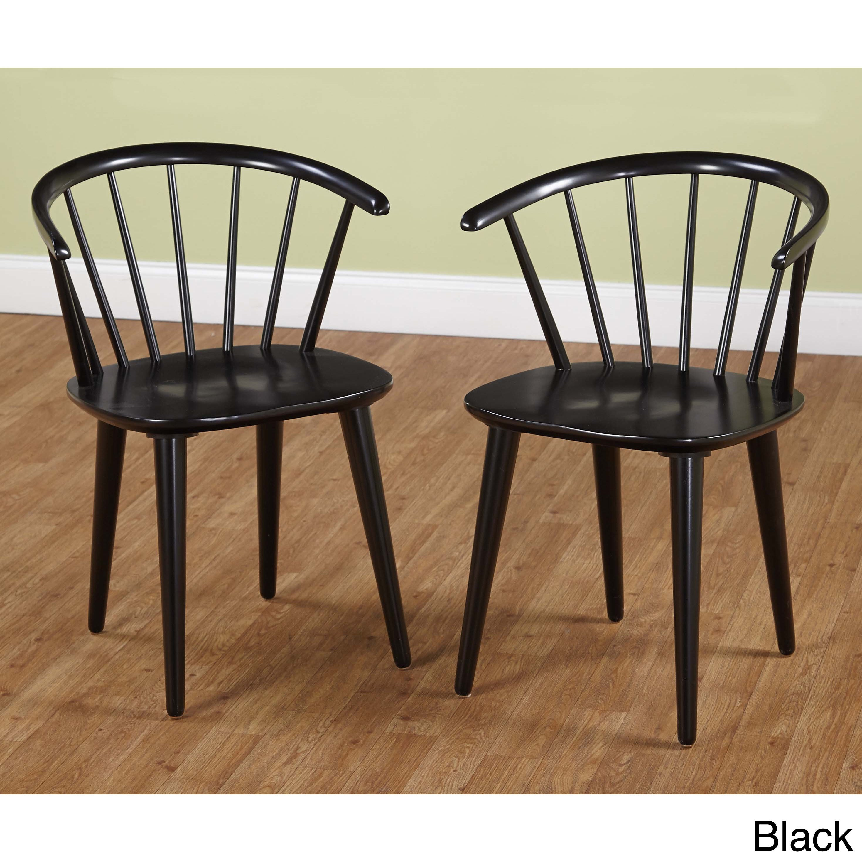shop simple living florence dining chairs set of 2 free shipping