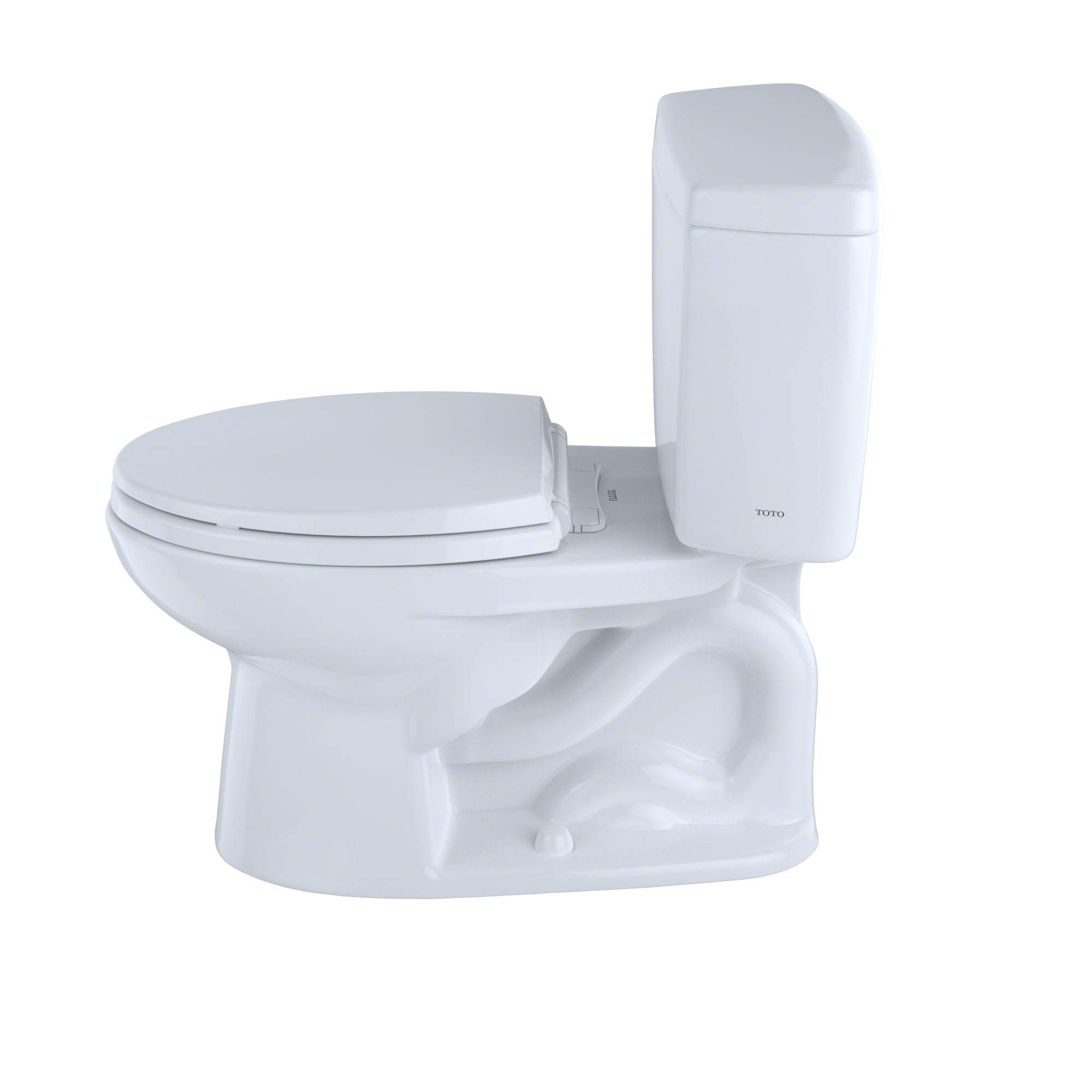 Shop Toto Drake Two-Piece Elongated 1.6 GPF Universal Height Toilet ...