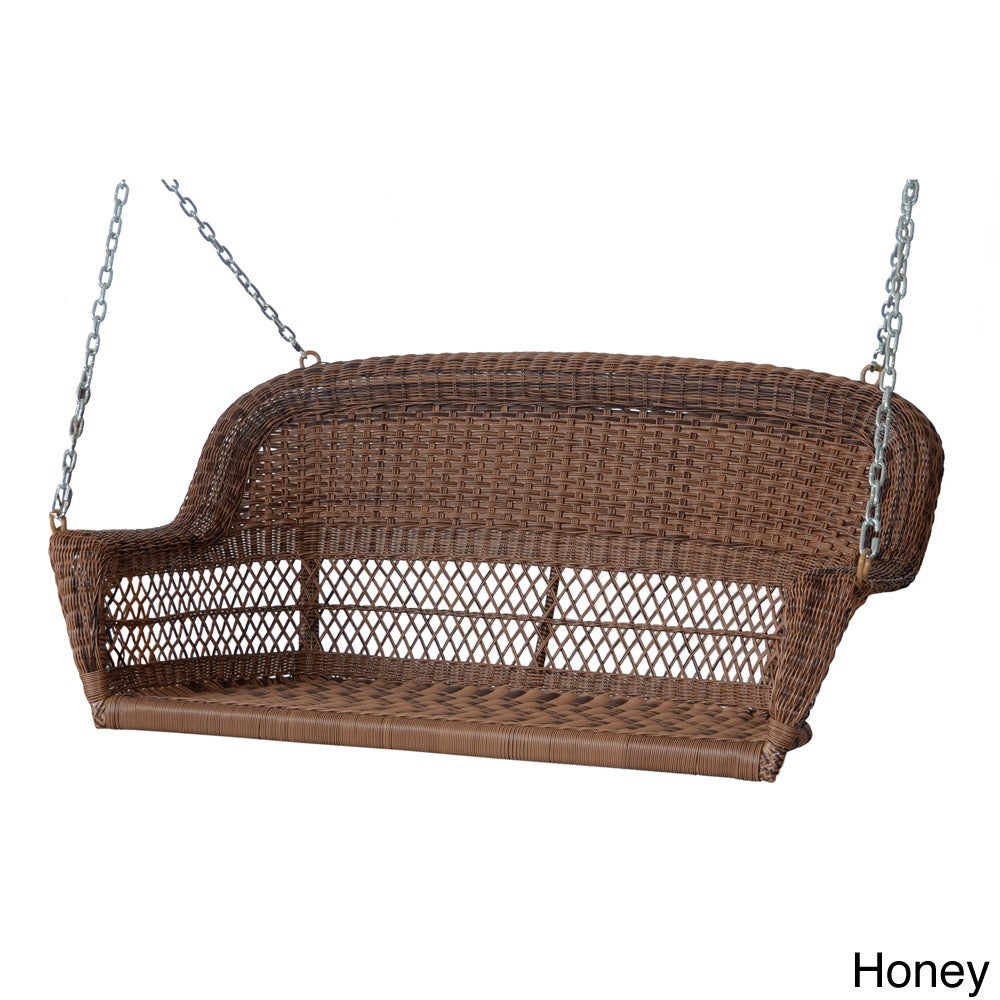 Resin Wicker Porch Swing Free Shipping Today 9183534