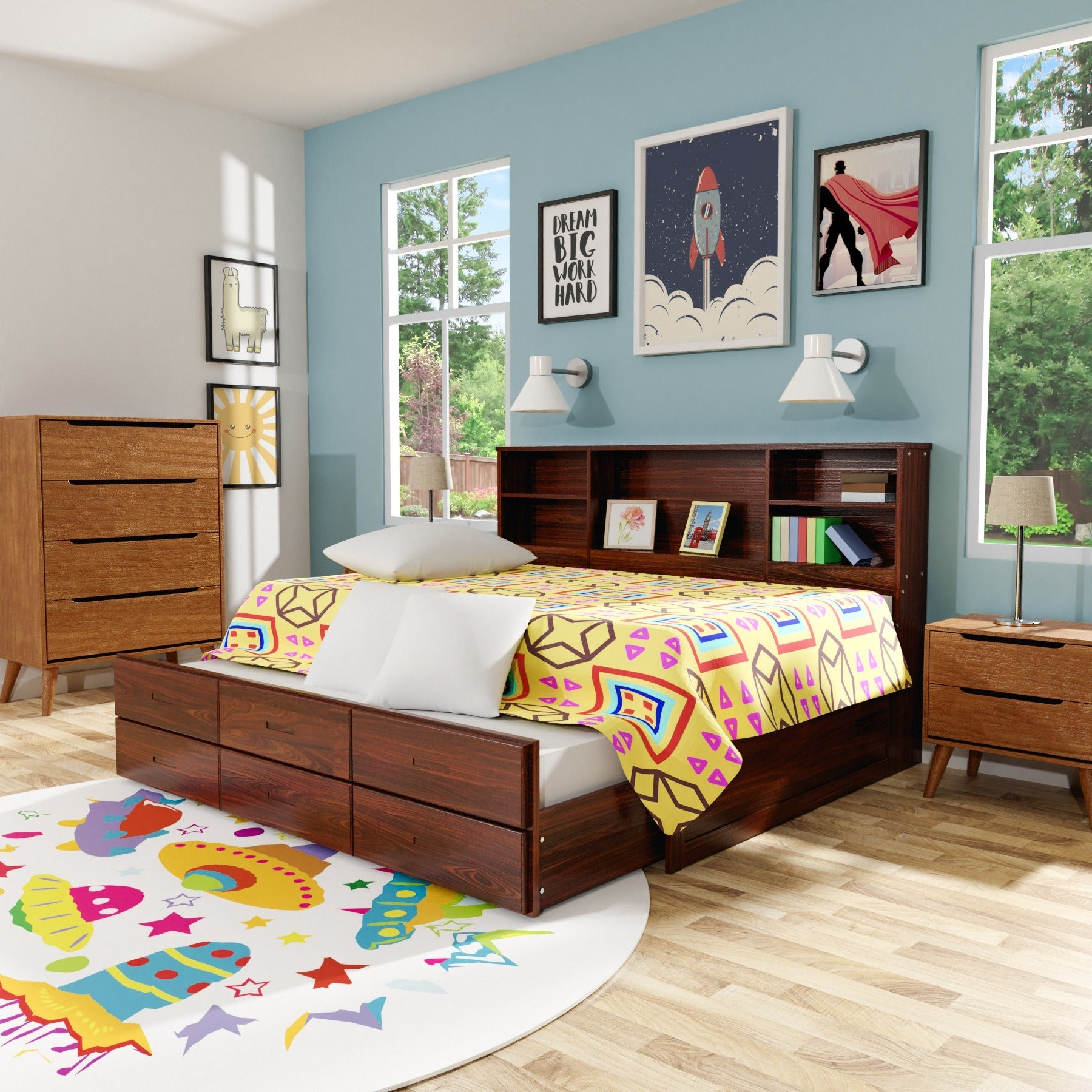 bookcase headboard life line white in footboard girls frame beds tango xiorex bookcases with princes bed frames