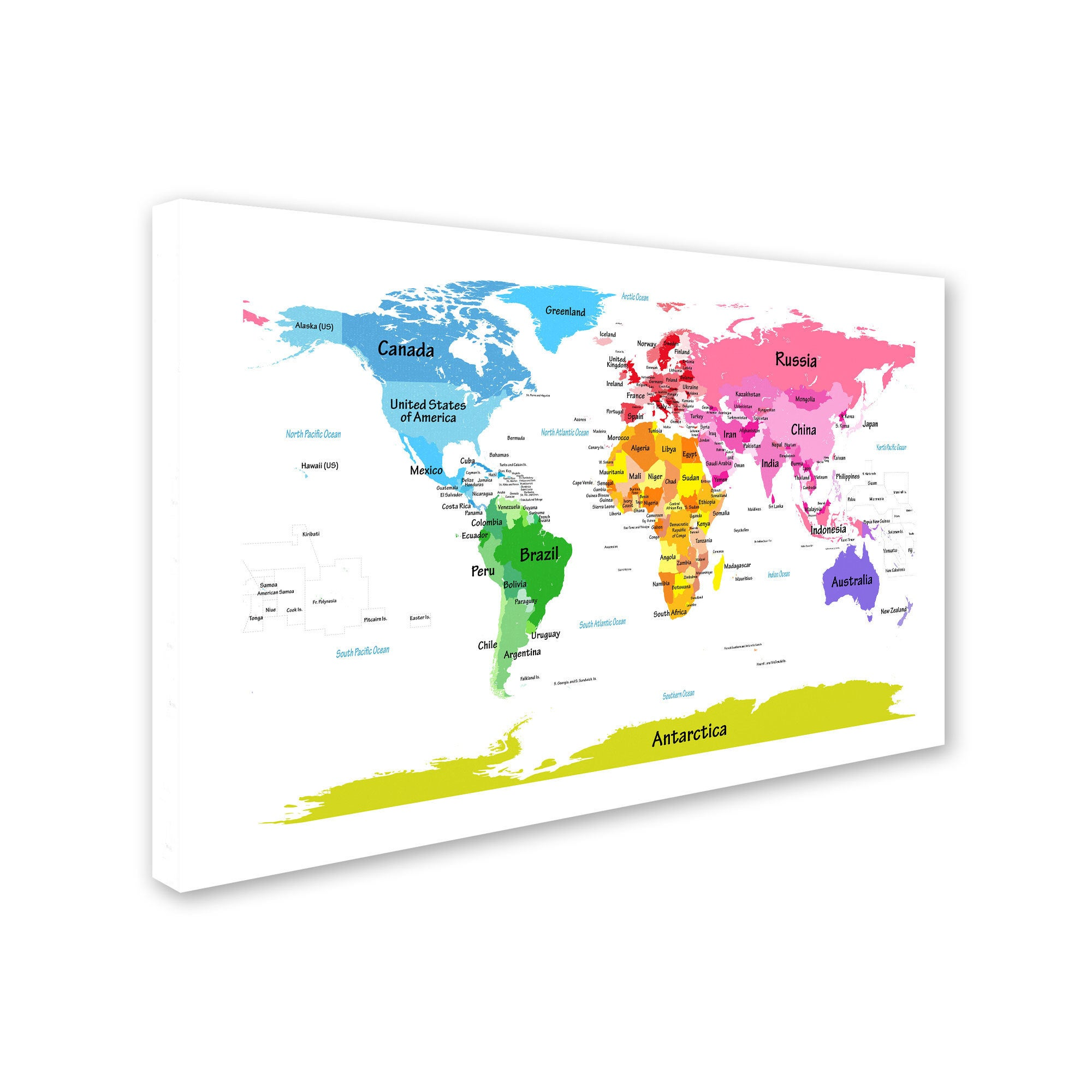 Michael tompsett world map for kids ii canvas art free shipping michael tompsett world map for kids ii canvas art free shipping today overstock 16362353 gumiabroncs Image collections