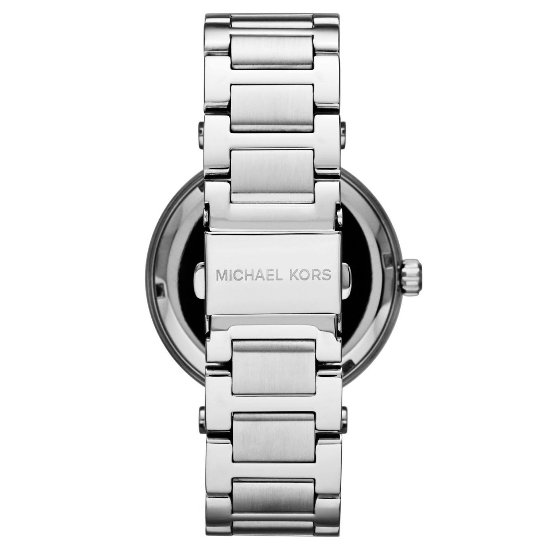 49c88b964de2 Shop Michael Kors Women s MK5866 Skylar Silvertone Watch - Silver - Free  Shipping Today - Overstock - 9189476