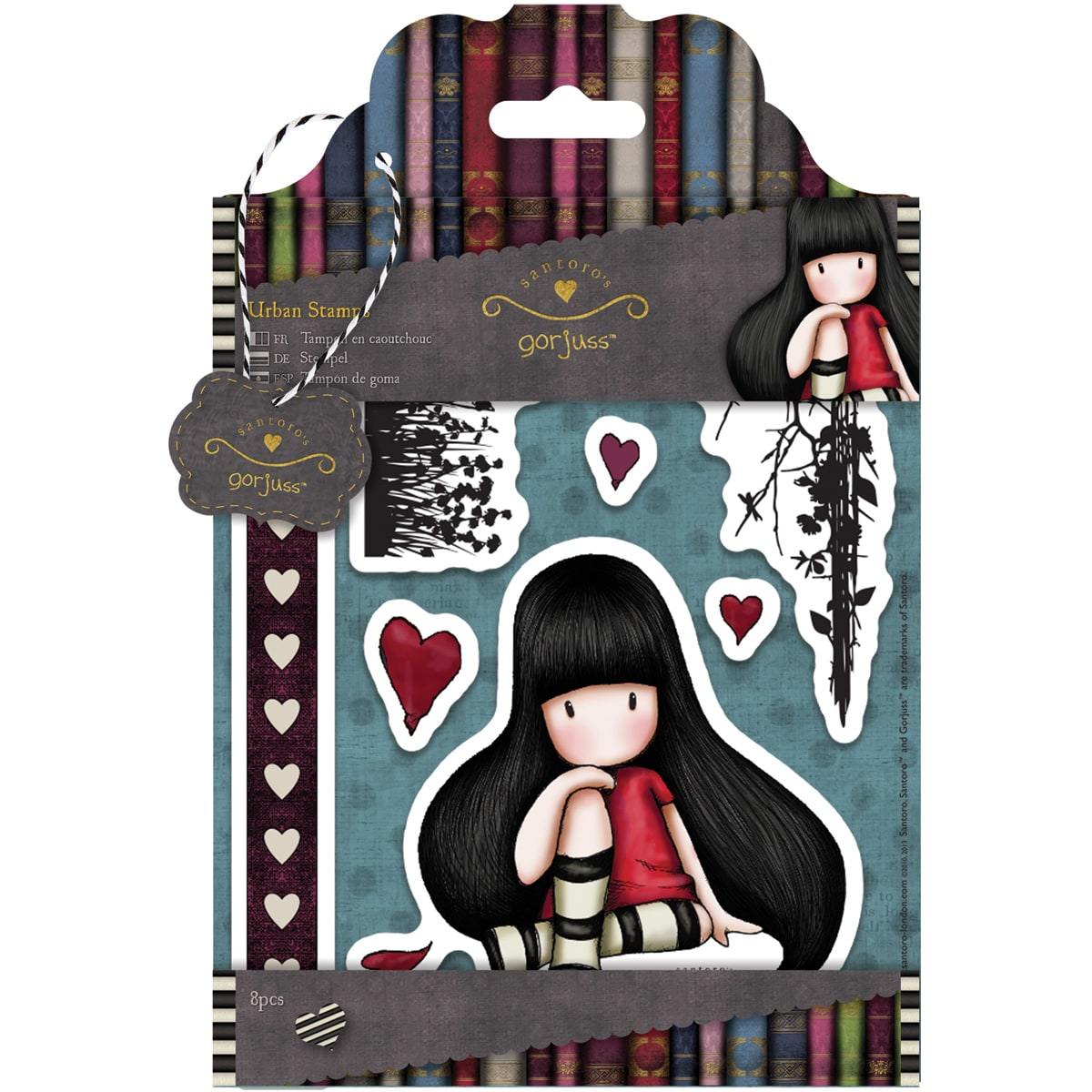 Shop Simply Gorjuss Urban Stamps-The Collector, 8 Images - Free Shipping On Orders Over $45 - Overstock.com - 9194149
