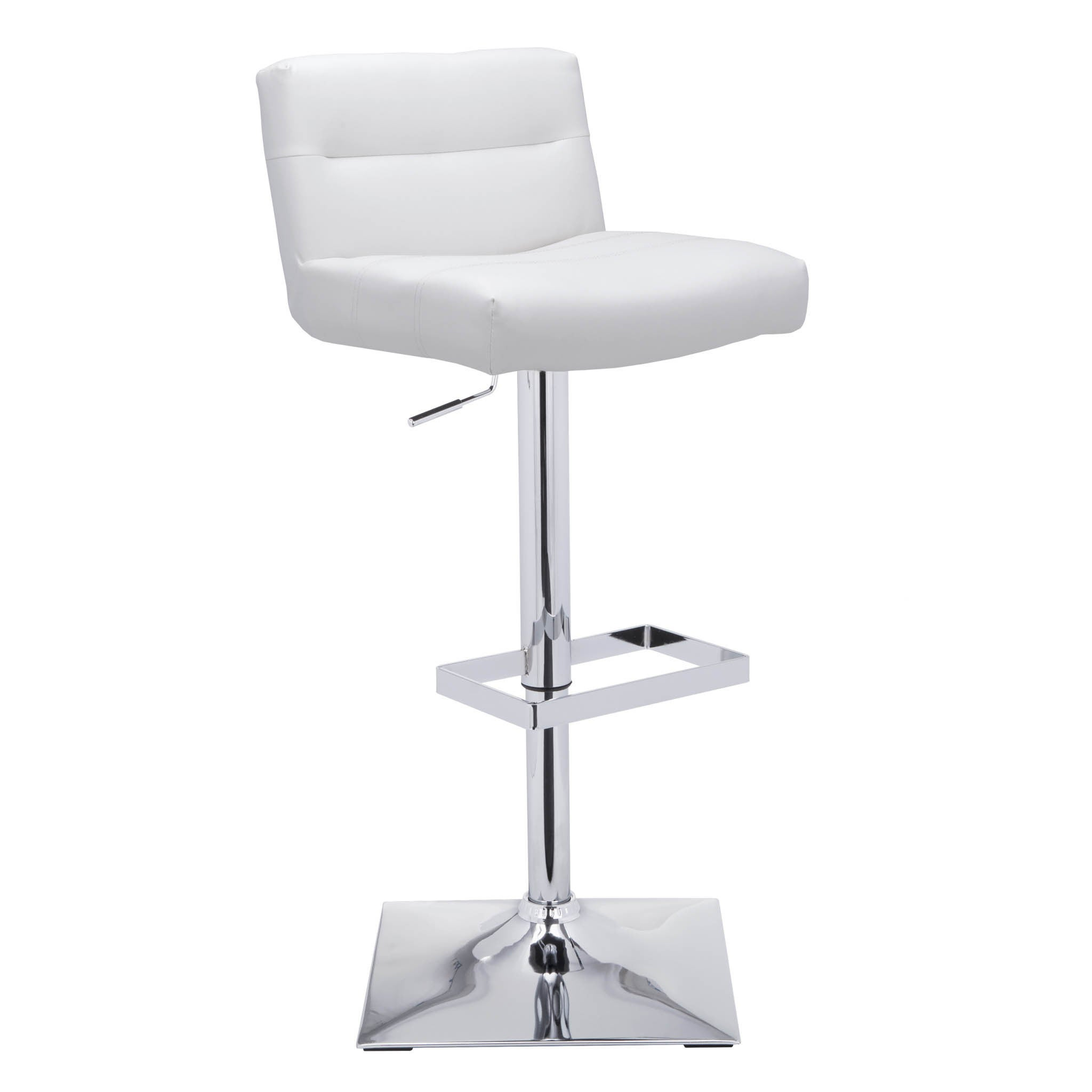 Genial Shop Sunpan U0027Urban Unityu0027 Stafford Faux Leather Adjustable Bar Stool   On  Sale   Free Shipping Today   Overstock.com   9198640