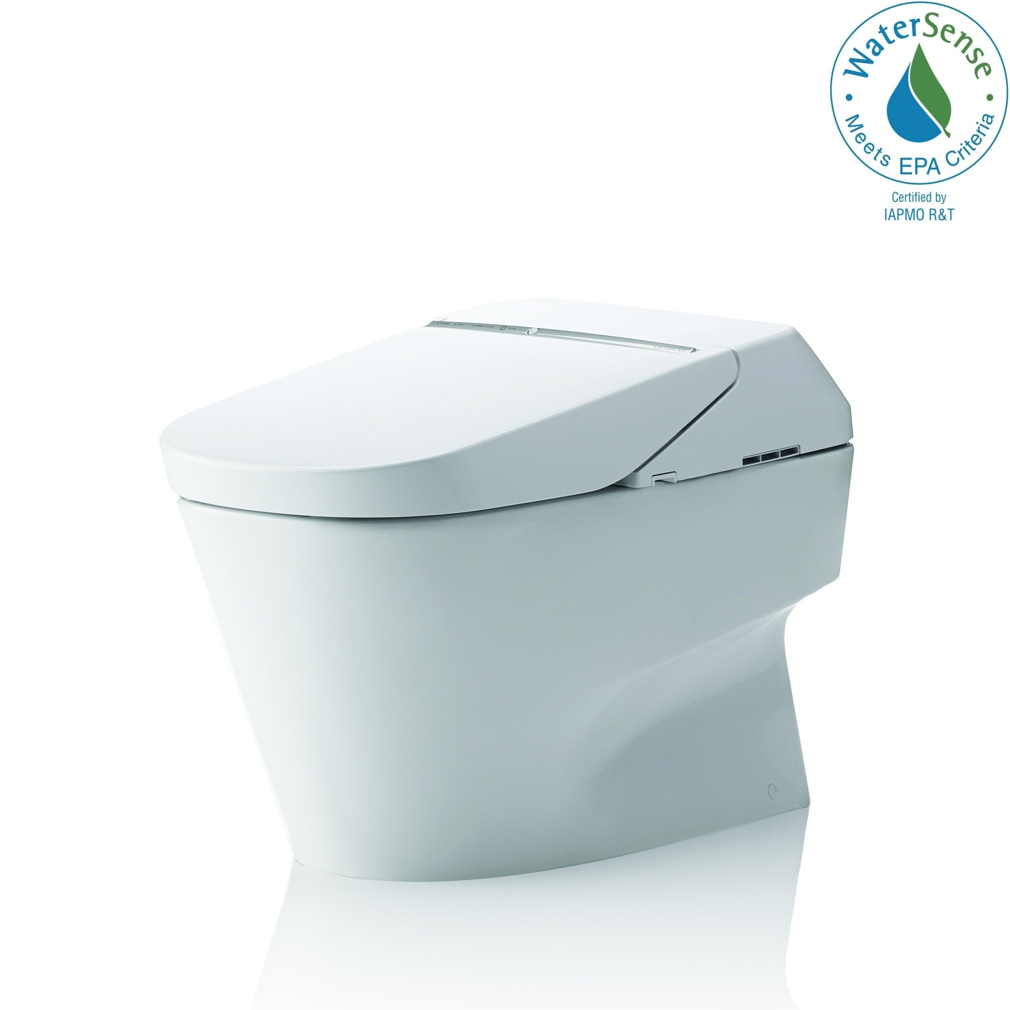 Shop Toto Neorest 700h Dual Flush 1 0 Or 0 8 Gpf Ada Height Toilet