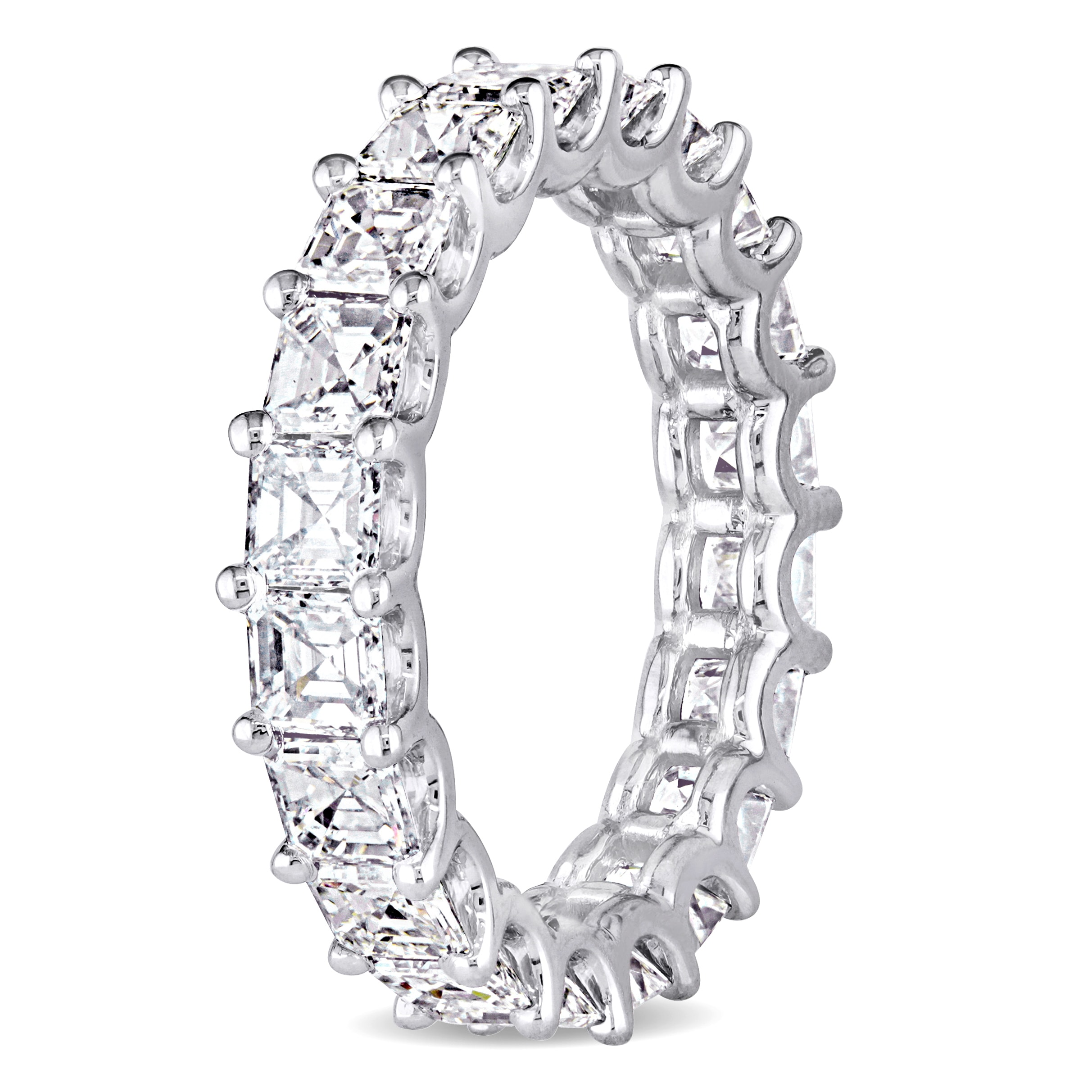 raine asher cut engagement turgeon diamond halo ring asscher product