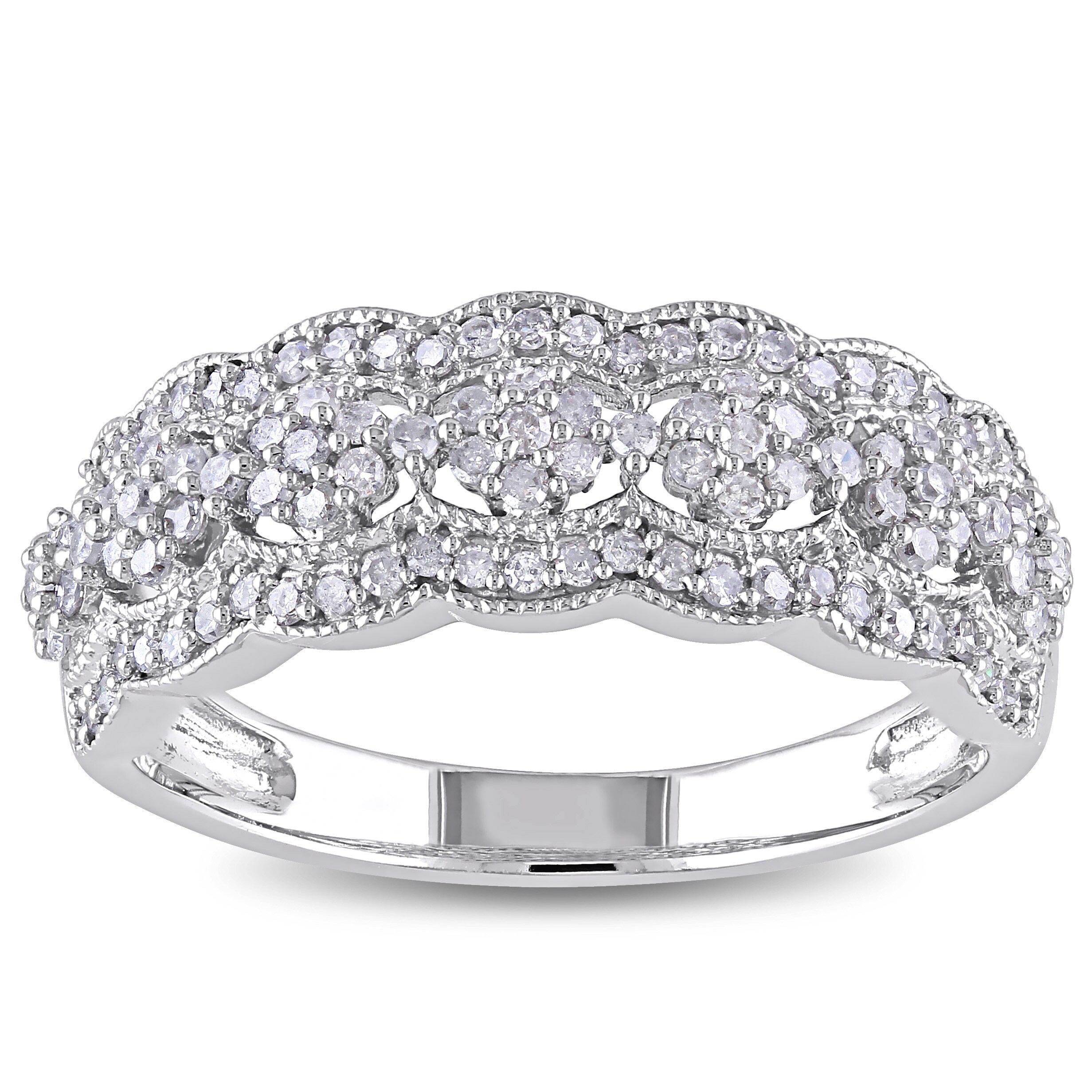 white and a shop gold cut eternity band bands year anniversary ring diamond baguette blaze