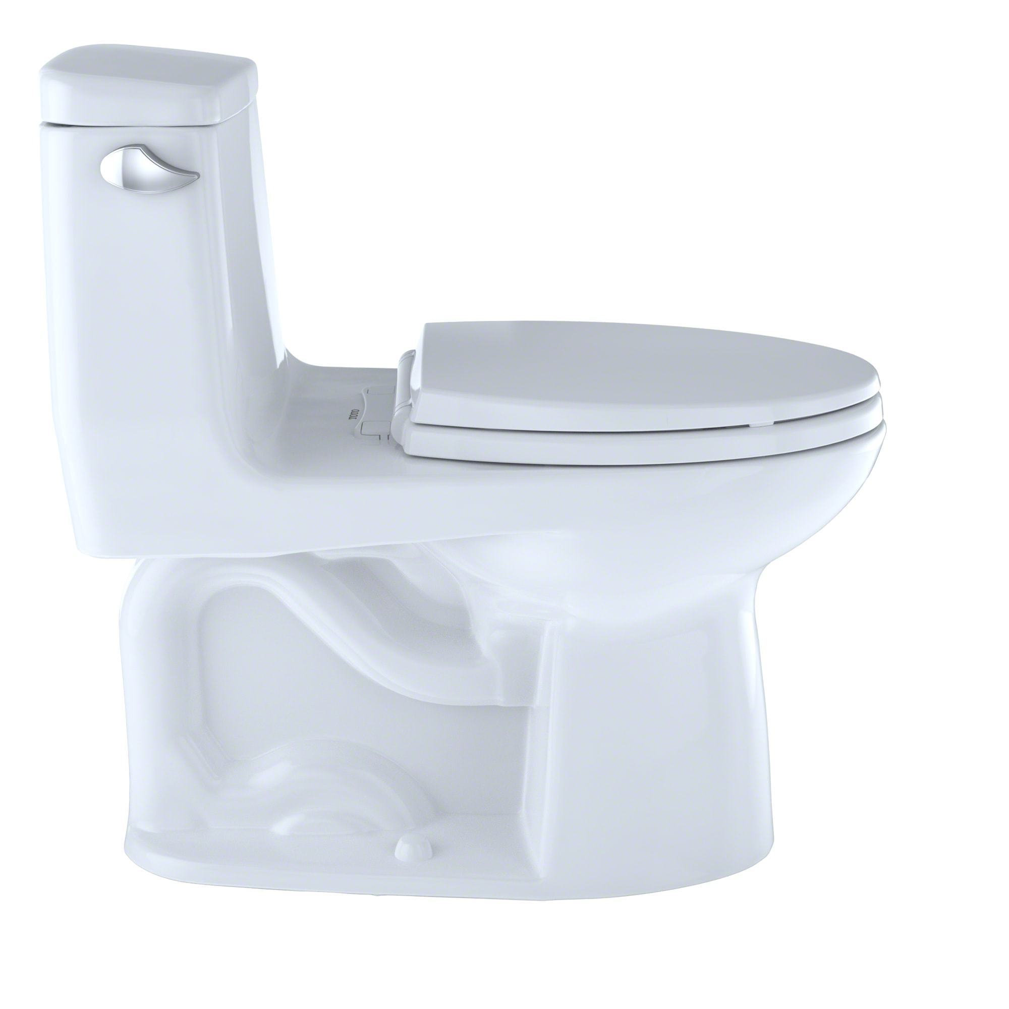 Toto UltraMax One-Piece Elongated 1.6 GPF Toilet with CeFiONtect ...