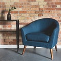 Grayson Navy Accent Chair