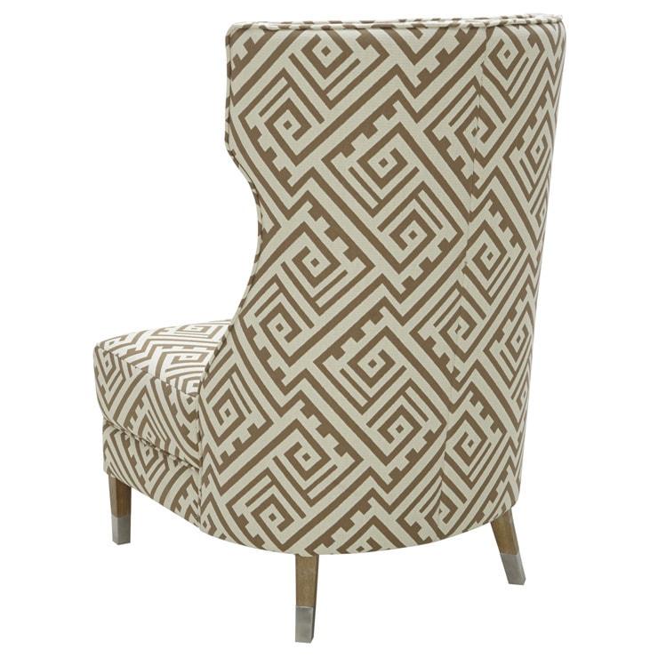 Genial Shop Sunpan U00275Westu0027 Frances Fabric Winged Chair   Free Shipping Today    Overstock.com   9204902