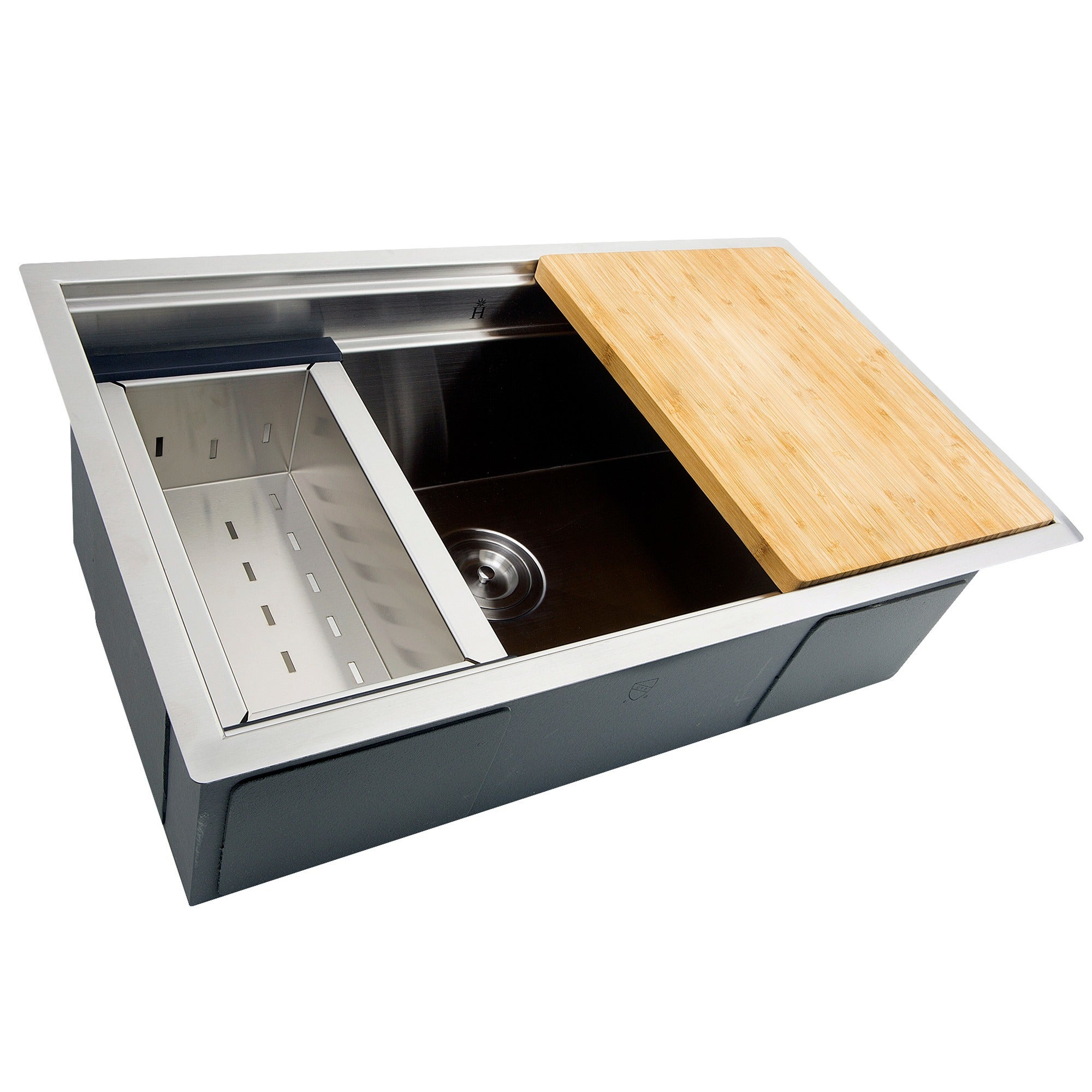 kitchen stainless com nsf steel commercial dp gridmann amazon sink compartment underbar sinks