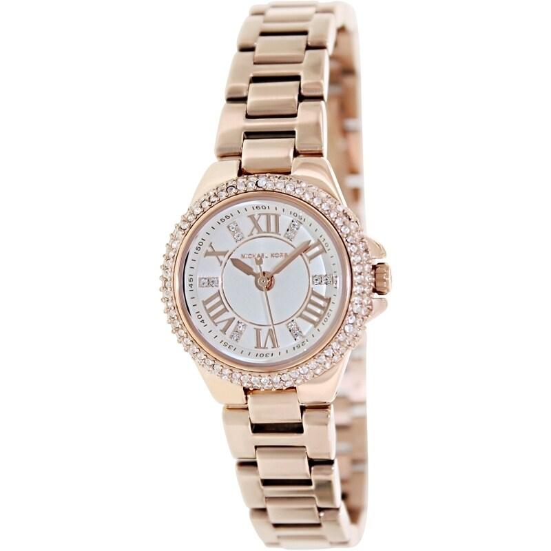 1952e88441f3 Shop Michael Kors Women s MK3253 Camille Rosetone Glitz Watch - Free  Shipping Today - Overstock - 9206866