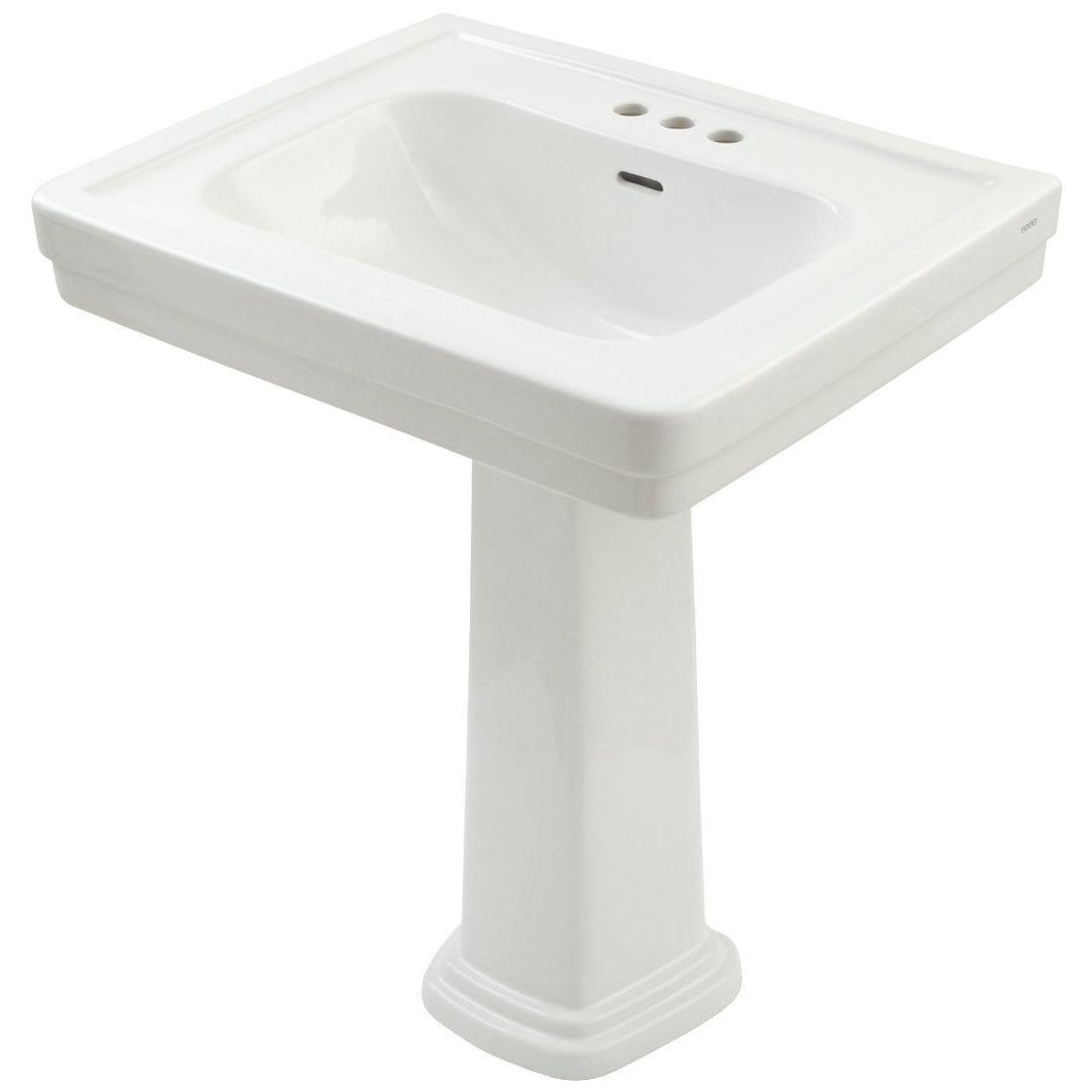 Toto Promenade Pedestal Vitreous China Bathroom Sink LPT530.4N#01 ...