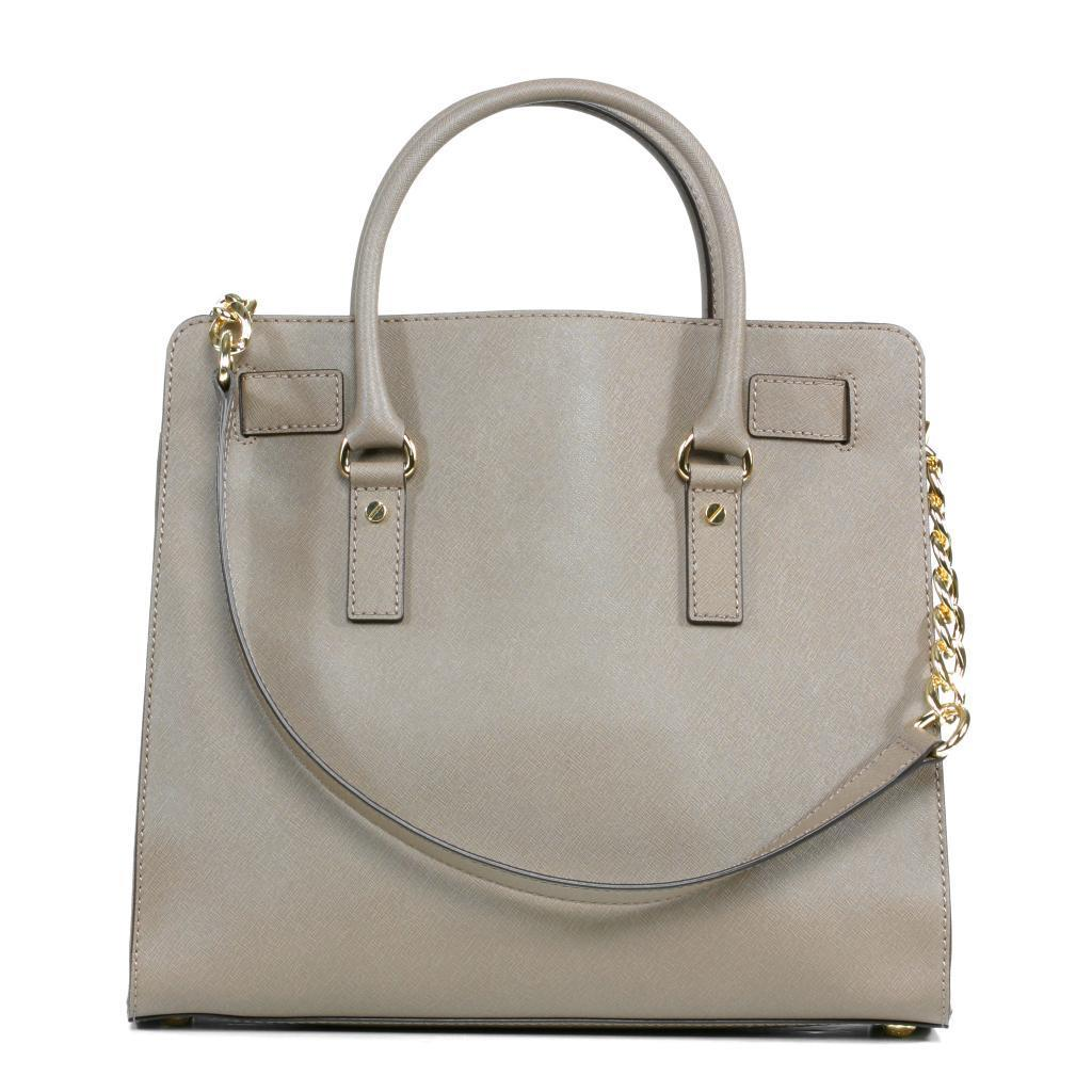 93af5b6563d605 Shop MICHAEL Michael Kors 'Hamilton' Large Dark Dune Tote - Free Shipping  Today - Overstock - 9207134