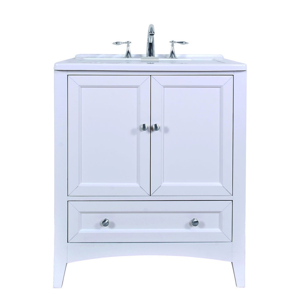 Stufurhome 30 inch White Laundry Utility Sink - Free Shipping Today ...
