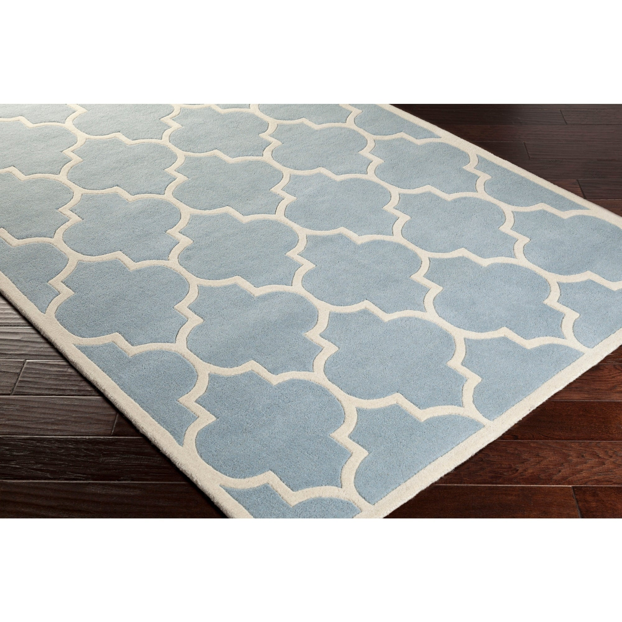 Shop Hand-Tufted Katie Moroccan Cambridge Wool Rug - 3\'6 - On Sale ...