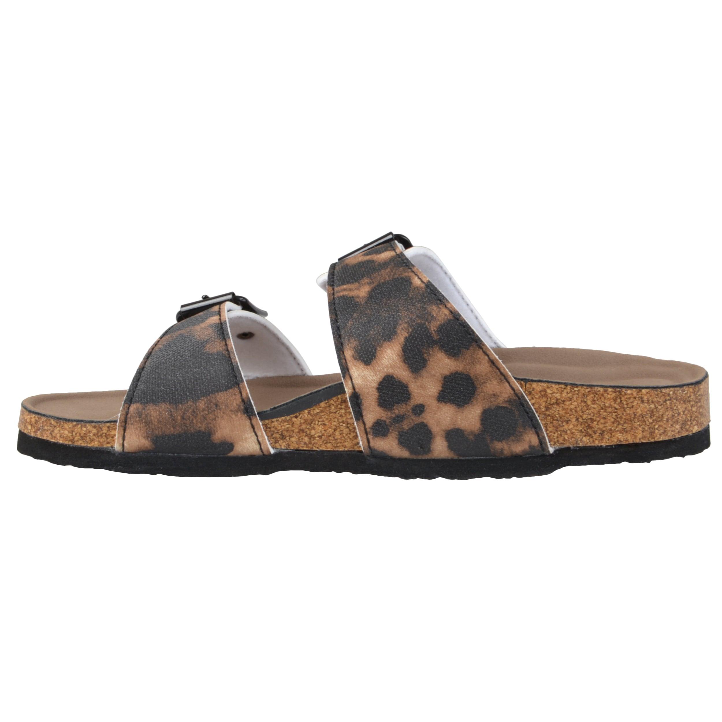 ab500cfaada Shop Madden Girl by Steve Madden Women s  Brando  Buckle Slide Sandals -  Free Shipping On Orders Over  45 - Overstock - 9207986